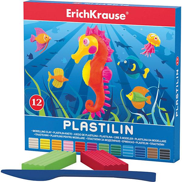 Пластилин 12 цветов, 216г, со стекомРисование и лепка<br>Пластилин 12 цветов, 216г, со стеком<br><br>Характеристики:<br><br>• В набор входит: 12 брусочков пластилина, лопаточка-стек<br>• Размер упаковки: 15 * 1,6 * 14 см.<br>• Вес: 248 г.<br>• Для детей в возрасте: от 3-х лет<br>• Страна производитель: Китай<br><br>Двенадцать ярких цветных брусочков пластилина изготовлены из безопасных для детей материалов и уже готовы к лепке. В набор входит лопаточка для пластилина, с ней вы сможете разрезать пластилин, делать его плоским или рифленым. Насыщенные цвета пластилина почти не оставляют следов на руках и могут перемешиваться между собой. Поделки из разных цветов отлично прикрепляются друг к другу. Работая с пластилином вы можете делать объемные фигурки, а также можете наносить пластилин на бумагу, картон или даже стекло, чтобы выполнять новые картины или даже фрески. <br><br>В набор входят основные двенадцать цветов, которые помогут создать настоящие шедевры. Занимаясь лепкой дети развивают моторику рук, творческие способности, восприятие цветов и их сочетаний, а также лепка благотворно влияет на развитие речи, координацию движений, память и логическое мышление. Лепка всей семьей поможет весело и пользой провести время!<br><br>Пластилин 12 цветов, 216г, со стеком можно купить в нашем интернет-магазине<br><br>Ширина мм: 153<br>Глубина мм: 143<br>Высота мм: 16<br>Вес г: 248<br>Возраст от месяцев: 60<br>Возраст до месяцев: 216<br>Пол: Унисекс<br>Возраст: Детский<br>SKU: 5409293
