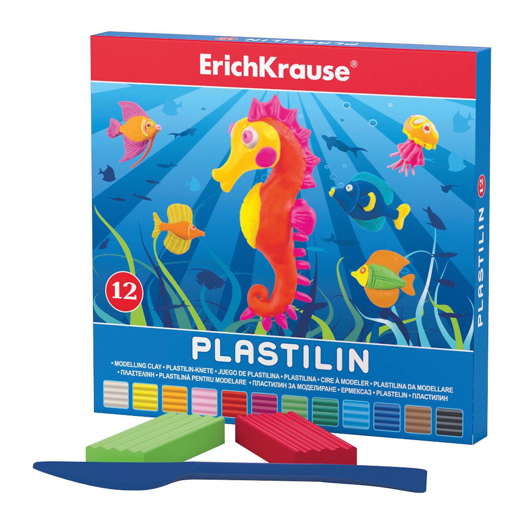 Пластилин 12 цветов, 216г, со стекомЛепка<br>Пластилин 12 цветов, 216г, со стеком<br><br>Характеристики:<br><br>• В набор входит: 12 брусочков пластилина, лопаточка-стек<br>• Размер упаковки: 15 * 1,6 * 14 см.<br>• Вес: 248 г.<br>• Для детей в возрасте: от 3-х лет<br>• Страна производитель: Китай<br><br>Двенадцать ярких цветных брусочков пластилина изготовлены из безопасных для детей материалов и уже готовы к лепке. В набор входит лопаточка для пластилина, с ней вы сможете разрезать пластилин, делать его плоским или рифленым. Насыщенные цвета пластилина почти не оставляют следов на руках и могут перемешиваться между собой. Поделки из разных цветов отлично прикрепляются друг к другу. Работая с пластилином вы можете делать объемные фигурки, а также можете наносить пластилин на бумагу, картон или даже стекло, чтобы выполнять новые картины или даже фрески. <br><br>В набор входят основные двенадцать цветов, которые помогут создать настоящие шедевры. Занимаясь лепкой дети развивают моторику рук, творческие способности, восприятие цветов и их сочетаний, а также лепка благотворно влияет на развитие речи, координацию движений, память и логическое мышление. Лепка всей семьей поможет весело и пользой провести время!<br><br>Пластилин 12 цветов, 216г, со стеком можно купить в нашем интернет-магазине<br><br>Ширина мм: 153<br>Глубина мм: 143<br>Высота мм: 16<br>Вес г: 248<br>Возраст от месяцев: 60<br>Возраст до месяцев: 216<br>Пол: Унисекс<br>Возраст: Детский<br>SKU: 5409293