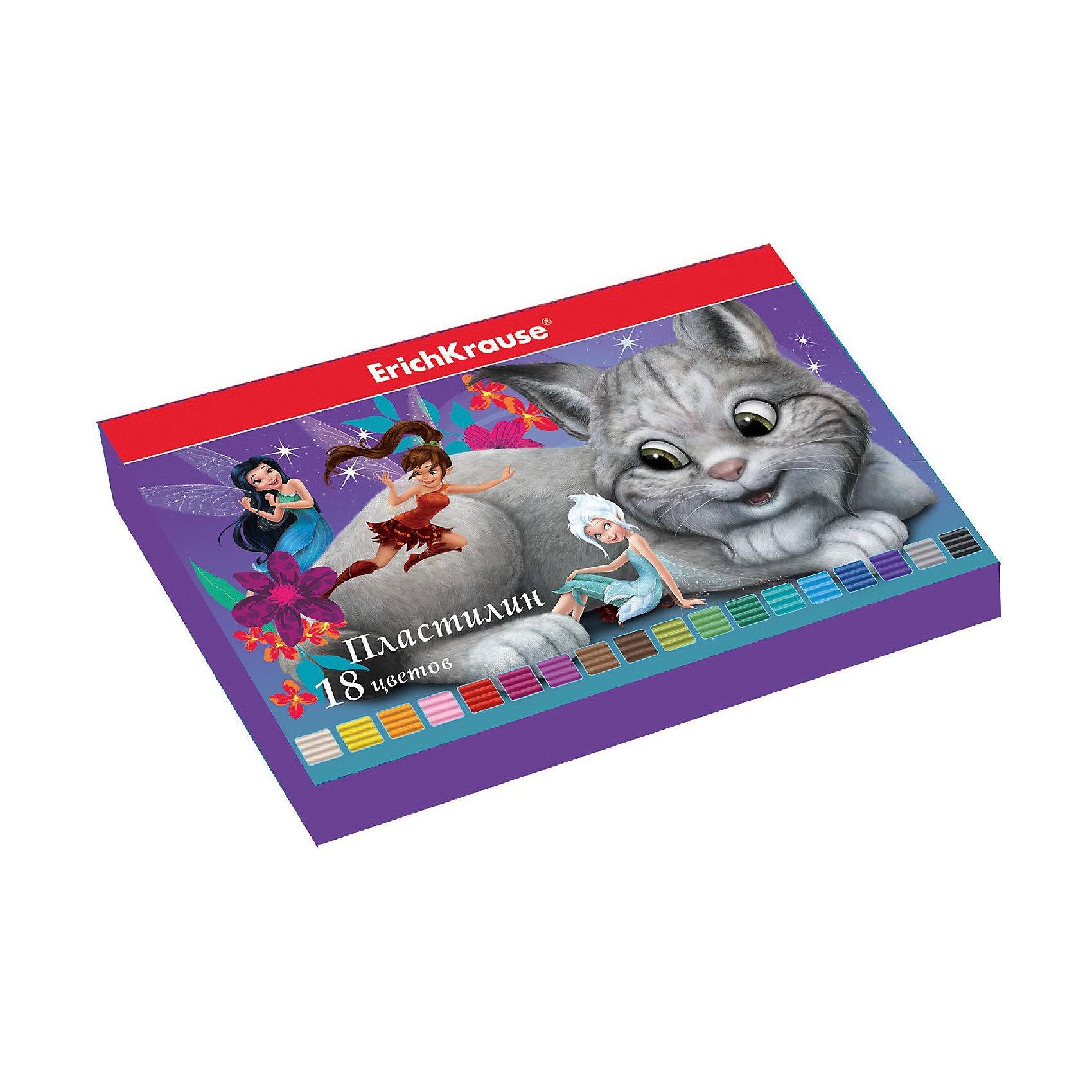 Пластилин 18 цветов Феи и невиданный зверь, 324г, со стекомЛепка<br>Пластилин 18 цветов Феи и невиданный зверь, 324г, со стеком<br><br>Характеристики:<br><br>• В набор входит: 18 брусочков пластилина, лопаточка-стек<br>• Размер упаковки: 22,5 * 1,6 * 14 см.<br>• Вес: 383 г.<br>• Для детей в возрасте: от 3-х лет<br>• Страна производитель: Китай<br><br>Восемнадцать ярких цветных брусочков пластилина изготовлены из безопасных для детей материалов и уже готовы к лепке. В набор входит лопаточка для пластилина, с ней вы сможете разрезать пластилин, делать его плоским или рифленым. Насыщенные цвета пластилина почти не оставляют следов на руках и могут перемешиваться между собой. Поделки из разных цветов отлично прикрепляются друг к другу. Работая с пластилином вы можете делать объемные фигурки, а также можете наносить пластилин на бумагу, картон или даже стекло, чтобы выполнять новые картины или даже фрески. <br><br>В набор входят целых восемнадцать цветов, которые помогут создать настоящие шедевры. Занимаясь лепкой дети развивают моторику рук, творческие способности, восприятие цветов и их сочетаний, а также лепка благотворно влияет на развитие речи, координацию движений, память и логическое мышление. Лепка всей семьей поможет весело и пользой провести время!<br><br>Пластилин 18 цветов Феи и невиданный зверь, 324г, со стеком можно купить в нашем интернет-магазине<br><br>Ширина мм: 225<br>Глубина мм: 143<br>Высота мм: 16<br>Вес г: 383<br>Возраст от месяцев: 60<br>Возраст до месяцев: 216<br>Пол: Унисекс<br>Возраст: Детский<br>SKU: 5409298