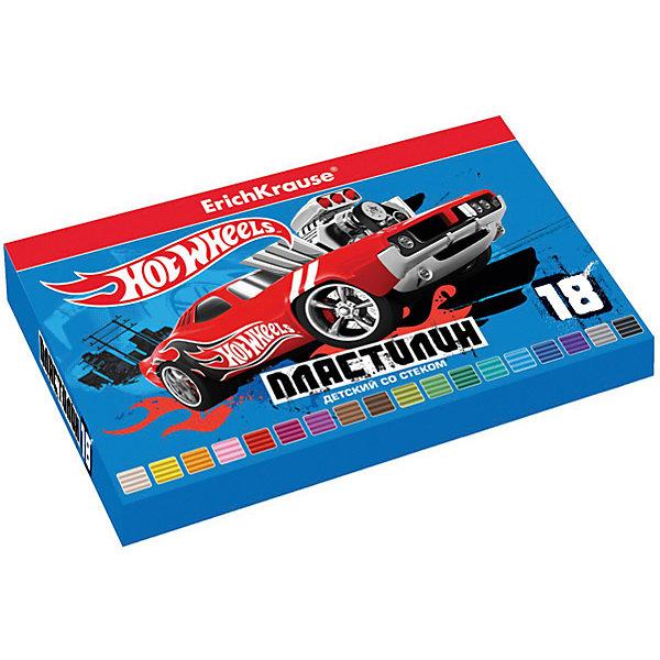 Пластилин 18 цветов Hot Wheels Super Car, 324г, со стекомHot Wheels<br>Характеристики товара:<br><br>• упаковка: коробка<br>• в комплект входит: пластилин, стек<br>• количество цветов: 18<br>• возраст: от 3 лет<br>• габариты упаковки: 22х14х1,6 см<br>• вес: 300 г<br>• страна производитель: Россия<br><br>Работа с пластилином благотворно влияет на развитие малыша. Лепка развивает тактильные восприятия, работает с мелкой моторикой и творческими способностями. Итог лепки – яркая и необычная игрушка, сделанная своими руками.<br><br>Пластилин 18 цветов Hot Wheels Super Car/324г, со стеком, в коробке, можно купить в нашем интернет-магазине.<br><br>Ширина мм: 225<br>Глубина мм: 143<br>Высота мм: 16<br>Вес г: 381<br>Возраст от месяцев: 36<br>Возраст до месяцев: 2147483647<br>Пол: Мужской<br>Возраст: Детский<br>SKU: 5409304
