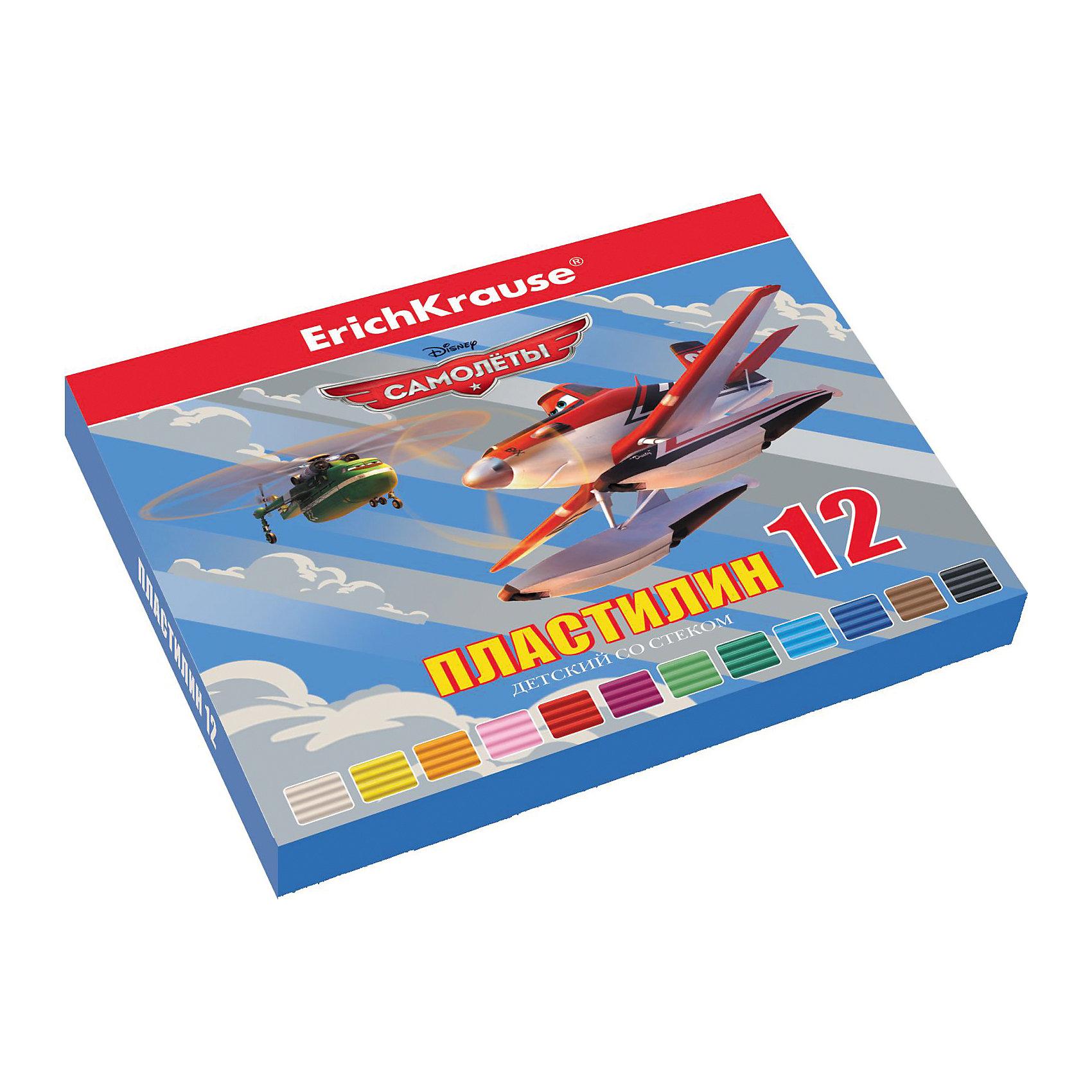 Пластилин 12 цветов Flying Planes, 216г, со стекомЛепка<br>Характеристики товара:<br><br>• материал упаковки: картон<br>• в комплект входит: пластилин, стек<br>• количество цветов: 12<br>• возраст: от 3 лет<br>• габариты упаковки: 15,3х14,3х1,6 см<br>• вес: 250 г<br>• страна производитель: Россия<br><br>Классическая форма пластилина, проверенная временем. Пластилин данной модели быстро разогревается, легко лепится и долго держит свою форму. Большое количество цветов позволит создавать настоящие шедевры в сфере скульптуры!<br><br>Пластилин 12 цветов Flying Planes, 216г, со стеком можно купить в нашем интернет-магазине.<br><br>Ширина мм: 153<br>Глубина мм: 143<br>Высота мм: 16<br>Вес г: 250<br>Возраст от месяцев: 36<br>Возраст до месяцев: 2147483647<br>Пол: Мужской<br>Возраст: Детский<br>SKU: 5409308