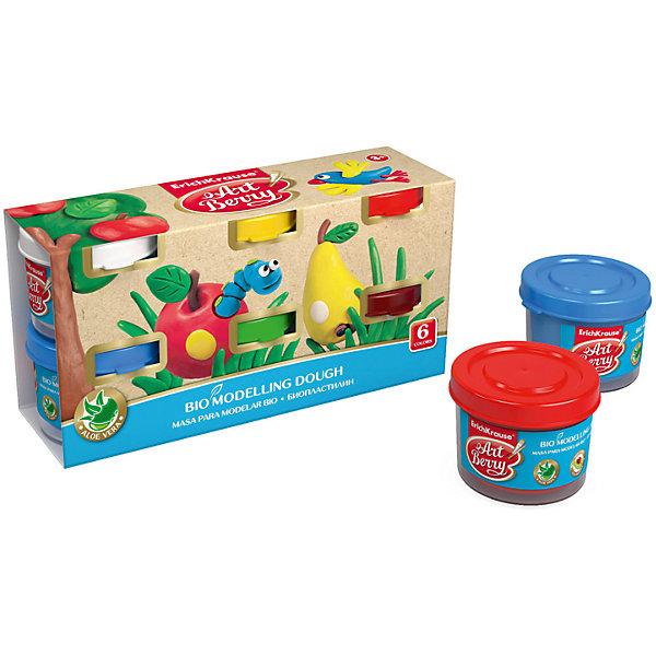 Биопластилин ArtBerry с Алоэ Вера, 6 цветов по 35гРисование и лепка<br>Характеристики товара:<br><br>• материал упаковки: картон<br>• количество цветов: 6<br>• каждая баночка по 35 г<br>• возраст: от 3 лет<br>• габариты упаковки: 15х7х4,5 см<br>• вес: 300 г<br>• страна производитель: Россия<br><br>Биопластилин – уникальный в своей сфере материал для детского творчества. Быстро и легко разогревается, приятный для лепки и прочный после засыхания. Наличие в составе Алоэ Вера ухаживает за детской кожей и не дает ей пересыхать во время работы с пластилином.<br><br>Биопластилин ArtBerry с Алоэ Вера, 6 цвета по 35 г, можно купить в нашем интернет-магазине.<br>Ширина мм: 150; Глубина мм: 72; Высота мм: 45; Вес г: 288; Возраст от месяцев: 36; Возраст до месяцев: 2147483647; Пол: Унисекс; Возраст: Детский; SKU: 5409319;