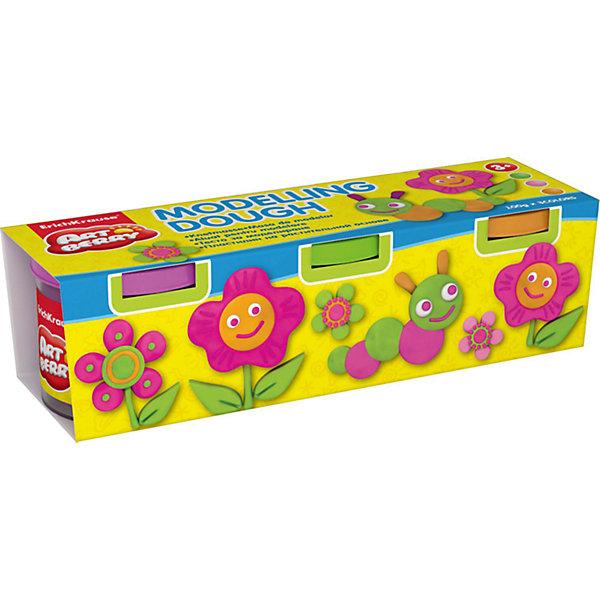 Пластилин на растительной основе Modelling Dough №2, 3 цвета по 100гНаборы для лепки<br>Характеристики товара:<br><br>• материал упаковки: картон<br>• в комплект входит: 3 банки по 100 г<br>• возраст: от 3 лет<br>• габариты упаковки: 20х5х6 см<br>• вес: 300 г<br>• страна производитель: Россия<br><br>Натуральная продукция – настоящая находка для детского творчества. Так, пластилин на растительной основе станет любимым материалов для творчества у вашего малыша. Мягкий, приятный для тактильного восприятия, он станет фаворитом среди пластилинов у малыша.<br><br>Пластилин на растительной основе Modelling Dough №2, 3 цвета по 100 г, можно купить в нашем интернет-магазине.<br>Ширина мм: 195; Глубина мм: 55; Высота мм: 57; Вес г: 382; Возраст от месяцев: 36; Возраст до месяцев: 2147483647; Пол: Унисекс; Возраст: Детский; SKU: 5409330;