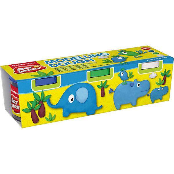 Пластилин на растительной основе Modelling Dough №3, 3 цвета по 100гРисование и лепка<br>Характеристики товара:<br><br>• материал упаковки: картон<br>• в комплект входит: 3 банки по 100 г<br>• возраст: от 3 лет<br>• габариты упаковки: 20х5х6 см<br>• вес: 300 г<br>• страна производитель: Россия<br><br>Натуральная продукция – настоящая находка для детского творчества. Так, пластилин на растительной основе станет любимым материалов для творчества у вашего малыша. Мягкий, приятный для тактильного восприятия, он станет фаворитом среди пластилинов у малыша.<br><br>Пластилин на растительной основе Modelling Dough №3, 3 цвета по 100 г, можно купить в нашем интернет-магазине.<br><br>Ширина мм: 195<br>Глубина мм: 55<br>Высота мм: 57<br>Вес г: 382<br>Возраст от месяцев: 36<br>Возраст до месяцев: 2147483647<br>Пол: Унисекс<br>Возраст: Детский<br>SKU: 5409331