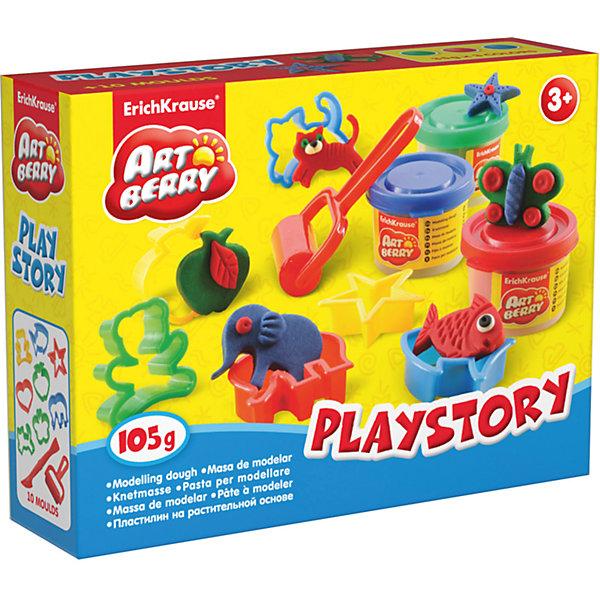 Набор для лепки: Пластилин на растительной основе Playstory 3 цвета по 35гНаборы для лепки<br>Характеристики товара:<br><br>• материал упаковки: картонная коробка в термоплёнке<br>• в комплект входит: 3 цвета пластилина по 35 г + 8 формочек, стек, ролик для пластилина <br>• возраст: от 3 лет<br>• габариты упаковки: 15х12х4 см<br>• вес: 200 г<br>• страна производитель: Россия<br><br>Натуральная продукция – настоящая находка для детского творчества. Так, пластилин на растительной основе станет любимым материалов для творчества у вашего малыша. Мягкий, приятный для тактильного восприятия, он станет фаворитом среди пластилинов у малыша. <br><br>Набор для лепки: Пластилин на растительной основе Playstory 3 цвета по 35 г, можно купить в нашем интернет-магазине.<br><br>Ширина мм: 155<br>Глубина мм: 115<br>Высота мм: 40<br>Вес г: 194<br>Возраст от месяцев: 36<br>Возраст до месяцев: 2147483647<br>Пол: Унисекс<br>Возраст: Детский<br>SKU: 5409335