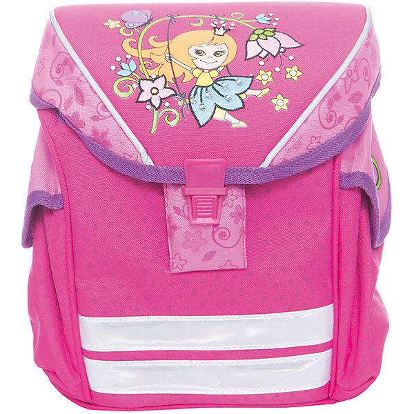 Дошкольный рюкзак Принцесса, модель Funny Ergo, ErichKrauseДетские рюкзаки<br>Характеристики товара:<br><br>• цвет: розовый<br>• материал: текстиль, полиэстер, пластик<br>• возраст: от 3 лет<br>• без наполнения<br>• жесткая вставка в спинке обеспечивает комфортную носку и правильное положение позвоночника;<br>• широкие лямки гарантируют удобную посадку и не натирают плечи;<br>• крышка откидывается полностью, облегчая доступ к содержимому;<br>• пластиковый надежный замок;<br>• лямки регулируются под рост ребенка или одетого в теплую одежду;<br>• просторное внутреннее отделение с небольшим кармашком для мелочей, ключей или телефона;<br>• по бокам 2 больших кармана для бутылочки с водой;<br>• светоотражающие полосы на передней части для видимости в темное время суток.<br>• вес: 330 г<br>• размер рюкзака: 25х19х11 см<br>• страна производитель: Китай<br><br>Модный и вместительный рюкзак – необходимая обновка для нового школьного сезона. Прочная и качественная модель отлично подойдет, чтобы поместить все учебники и тетради. У модели специальная вставка на спине, снижающая нагрузку на позвоночник.<br><br>Мини-ранец Artberry Принцесса модель Funny Ergo можно купить в нашем интернет-магазине.<br>Ширина мм: 230; Глубина мм: 100; Высота мм: 250; Вес г: 485; Возраст от месяцев: 36; Возраст до месяцев: 2147483647; Пол: Женский; Возраст: Детский; SKU: 5409370;