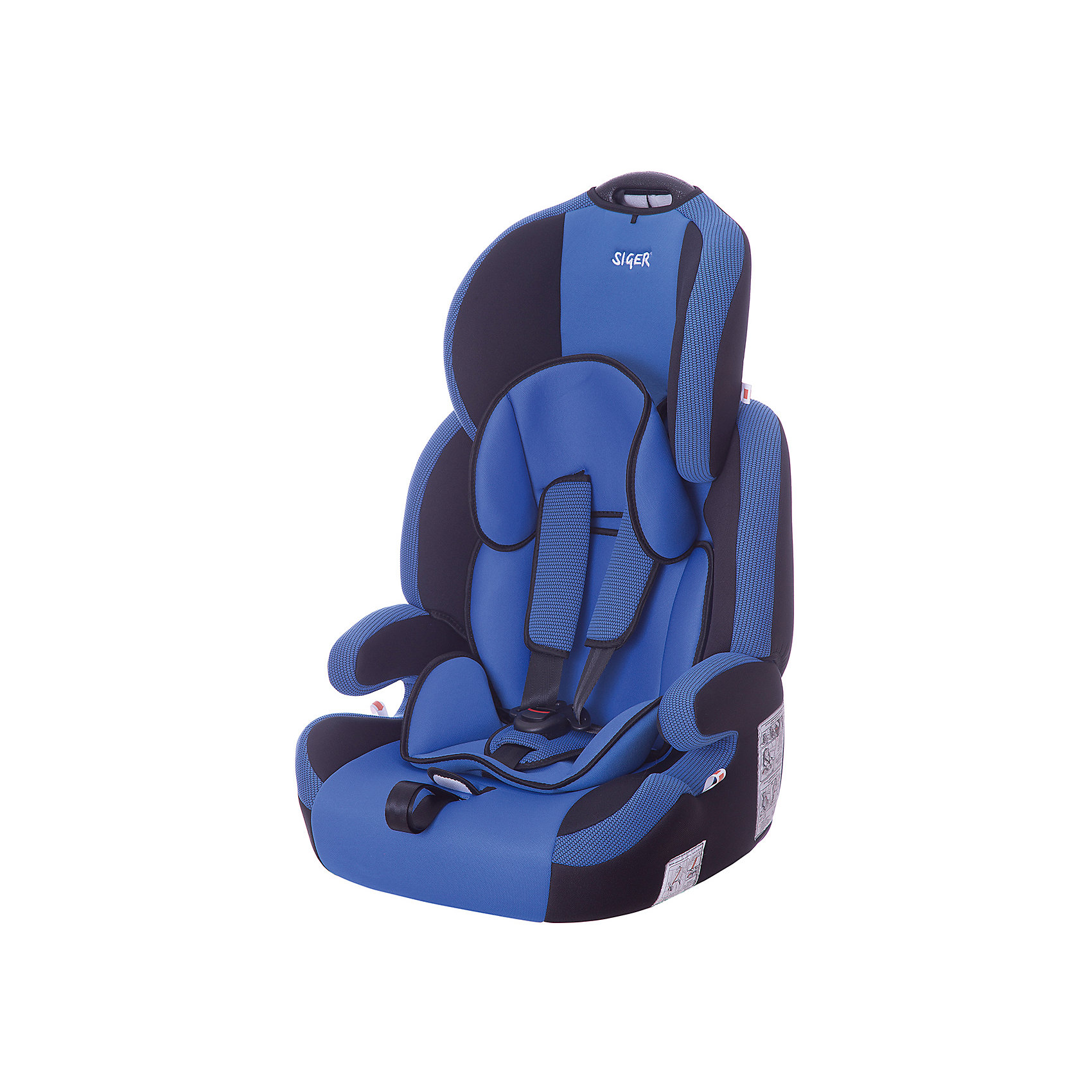 Автокресло Siger Стар Isofix 9-36 кг, синийГруппа 1-2-3 (От 9 до 36 кг)<br>Характеристики:<br><br>• группа: 1/2/3;<br>• вес ребенка: 9-36 кг;<br>• возраст ребенка: от 1 года до 12 лет;<br>• способ крепления: Isofix;<br>• способ установки: по ходу движения автомобиля;<br>• 5-ти точечные ремни безопасности, регулируются по длине и высоте;<br>• ручка для переноски автокресла;<br>• анатомическая форма кресла;<br>• регулируемый по высоте подголовник;<br>• усиленная защита от боковых ударов;<br>• чехол снимается и стирается при температуре 30 градусов;<br>• материал: пластик, полиэстер;<br>• размер автокресла: 60х50х70 см;<br>• вес автокресла: 6,8 кг.<br><br>Автокресло группы 1-2-3 предназначено для детей в возрасте от года до 12 лет. Автокресло устанавливается на заднем сидении автомобиля лицом по ходу движения автомобиля, крепится с помощью системы Изофикс. Кресло универсальное: и годовалому крохе будет уютно в кресле, и подросток будет чувствовать себя комфортно – благодаря анатомической форме кресельной чаши, мягким подлокотникам, широким боковинам, регулируемому подголовнику, вкладышу для малышей. <br><br>Автокресло Стар Isofix 9-36 кг., SIGER, цвет синий можно купить в нашем интернет-магазине.<br><br>Ширина мм: 500<br>Глубина мм: 470<br>Высота мм: 730<br>Вес г: 6500<br>Возраст от месяцев: 12<br>Возраст до месяцев: 144<br>Пол: Мужской<br>Возраст: Детский<br>SKU: 5409374
