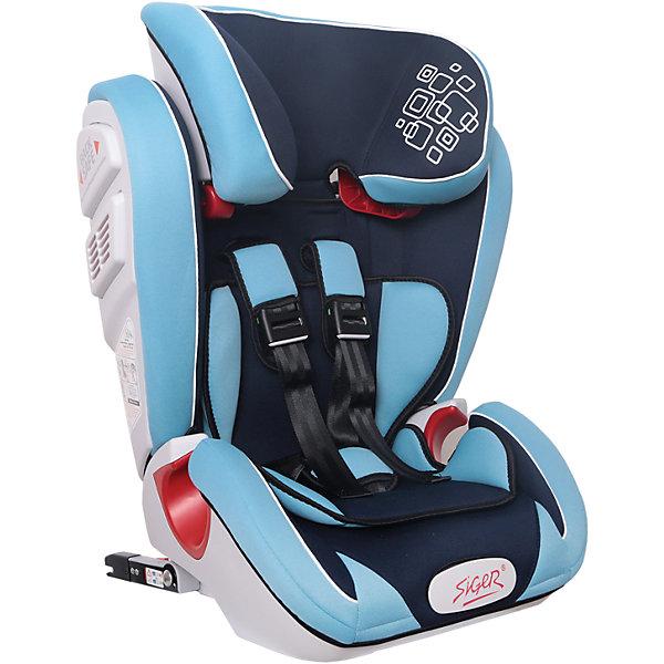 Автокресло Siger Индиго Isofix 9-36 кг, синийГруппа 1-2-3  (от 9 до 36 кг)<br>Характеристики:<br><br>• группа: 1/2/3;<br>• вес ребенка: 9-36 кг;<br>• возраст ребенка: от 1 года до 12 лет;<br>• способ крепления: Isofix;<br>• способ установки: по ходу движения автомобиля;<br>• 5-ти точечные ремни безопасности, регулируются по длине и высоте;<br>• анатомическая форма кресла;<br>• вкладыш для годовалого ребенка;<br>• регулируемый по высоте подголовник;<br>• усиленная защита от боковых ударов;<br>• чехол снимается и стирается при температуре 30 градусов;<br>• материал: пластик, полиэстер;<br>• размер автокресла: 51х43,3х63,4 см;<br>• вес автокресла: 8,3 кг.<br><br>Автокресло группы 1-2-3 предназначено для детей в возрасте от года до 12 лет. Автокресло устанавливается на заднем сидении автомобиля лицом по ходу движения автомобиля, крепится с помощью системы Изофикс. Кресло универсальное: и годовалому крохе будет уютно в кресле, и подросток будет чувствовать себя комфортно – благодаря анатомической форме кресельной чаши, широким боковинам, регулируемому подголовнику, вкладышу для малышей. <br><br>Автокресло Индиго Isofix 9-36 кг., SIGER, цвет синий можно купить в нашем интернет-магазине.<br>Ширина мм: 430; Глубина мм: 511; Высота мм: 631; Вес г: 8300; Возраст от месяцев: 12; Возраст до месяцев: 144; Пол: Мужской; Возраст: Детский; SKU: 5409379;