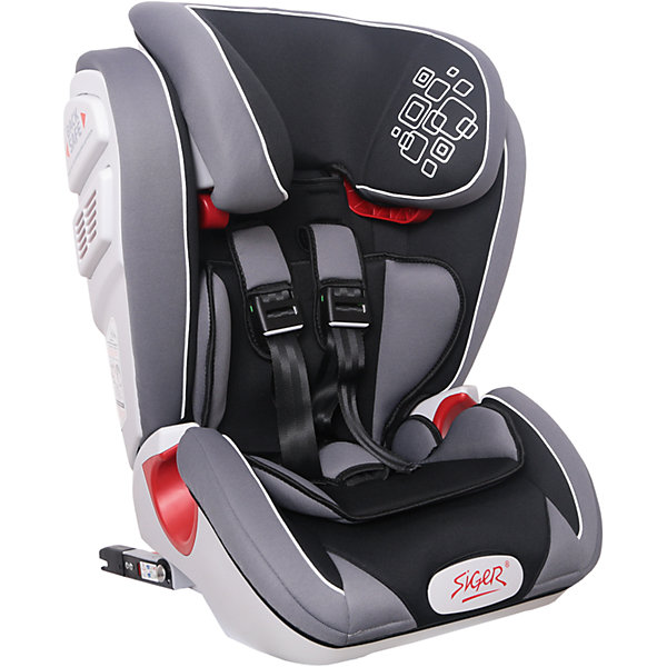 Автокресло Siger Индиго Isofix 9-36 кг, черныйГруппа 1-2-3  (от 9 до 36 кг)<br>Характеристики:<br><br>• группа: 1/2/3;<br>• вес ребенка: 9-36 кг;<br>• возраст ребенка: от 1 года до 12 лет;<br>• способ крепления: Isofix;<br>• способ установки: по ходу движения автомобиля;<br>• 5-ти точечные ремни безопасности, регулируются по длине и высоте;<br>• анатомическая форма кресла;<br>• вкладыш для годовалого ребенка;<br>• регулируемый по высоте подголовник;<br>• усиленная защита от боковых ударов;<br>• чехол снимается и стирается при температуре 30 градусов;<br>• материал: пластик, полиэстер;<br>• размер автокресла: 51х43,3х63,4 см;<br>• вес автокресла: 8,3 кг.<br><br>Автокресло группы 1-2-3 предназначено для детей в возрасте от года до 12 лет. Автокресло устанавливается на заднем сидении автомобиля лицом по ходу движения автомобиля, крепится с помощью системы Изофикс. Кресло универсальное: и годовалому крохе будет уютно в кресле, и подросток будет чувствовать себя комфортно – благодаря анатомической форме кресельной чаши, широким боковинам, регулируемому подголовнику, вкладышу для малышей. <br><br>Автокресло Индиго Isofix 9-36 кг., SIGER, цвет черный можно купить в нашем интернет-магазине.<br>Ширина мм: 430; Глубина мм: 511; Высота мм: 631; Вес г: 8300; Возраст от месяцев: 12; Возраст до месяцев: 144; Пол: Унисекс; Возраст: Детский; SKU: 5409380;