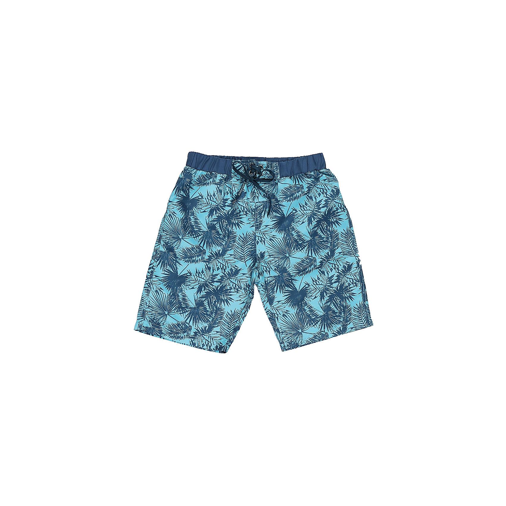 Шорты пляжные для мальчика LuminosoШорты, бриджи, капри<br>Купальные шорты для мальчика с ярким принтом выполнены из легкого быстросохнущего материала. Пояс-резинка дополнен шнуром для регулирования объема.<br>Состав:<br>100% полиэстер<br><br>Ширина мм: 191<br>Глубина мм: 10<br>Высота мм: 175<br>Вес г: 273<br>Цвет: разноцветный<br>Возраст от месяцев: 96<br>Возраст до месяцев: 108<br>Пол: Мужской<br>Возраст: Детский<br>Размер: 134,140,146,152,158,164<br>SKU: 5409555
