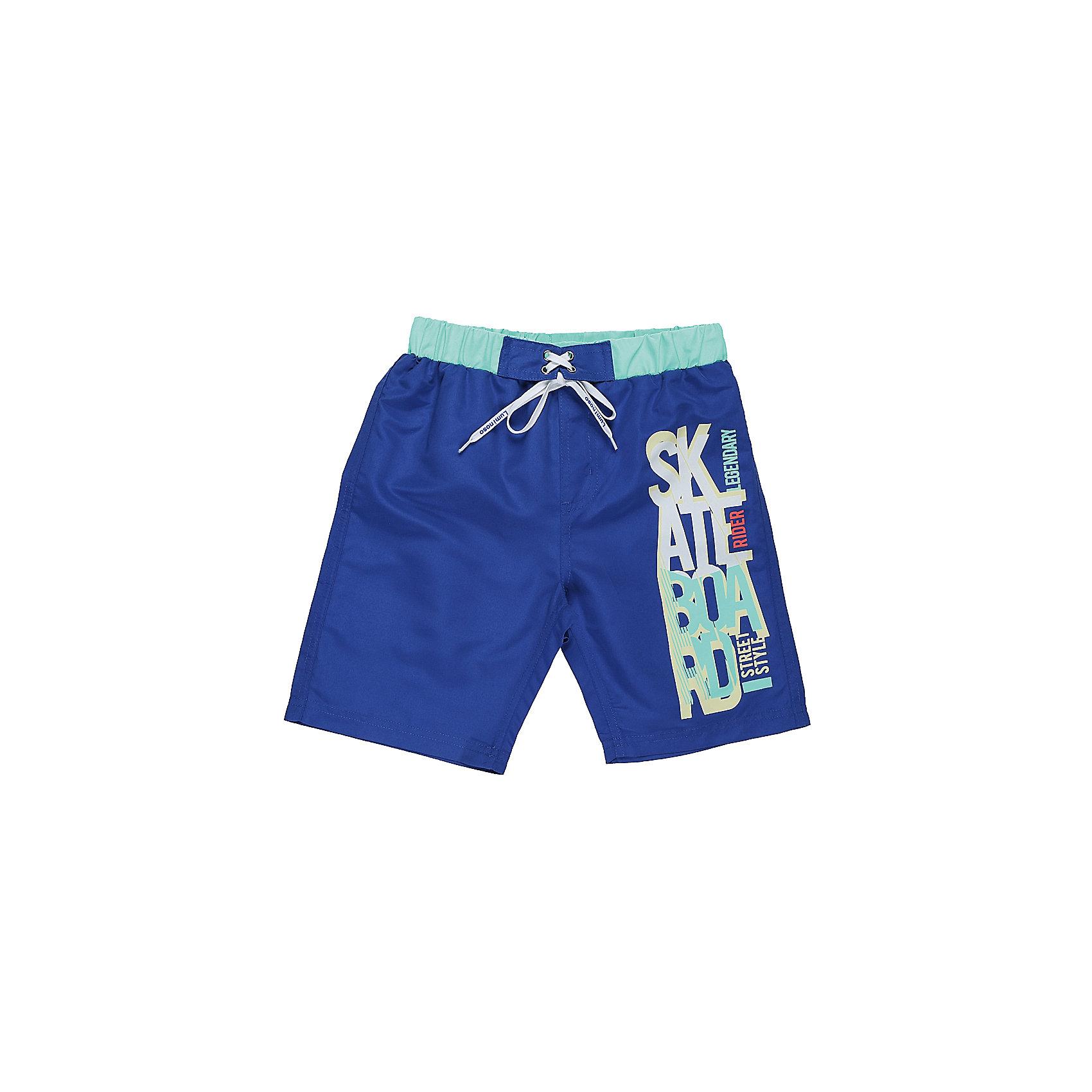 Шорты пляжные для мальчика LuminosoШорты, бриджи, капри<br>Купальные шорты для мальчика с ярким принтом выполнены из легкого быстросохнущего материала. Пояс-резинка дополнен шнуром для регулирования объема.<br>Состав:<br>100% полиэстер<br><br>Ширина мм: 191<br>Глубина мм: 10<br>Высота мм: 175<br>Вес г: 273<br>Цвет: разноцветный<br>Возраст от месяцев: 96<br>Возраст до месяцев: 108<br>Пол: Мужской<br>Возраст: Детский<br>Размер: 140,146,152,158,164,134<br>SKU: 5409562
