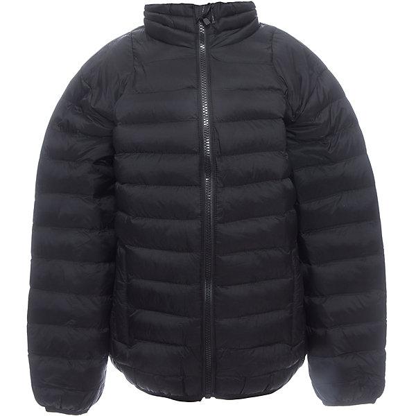 Куртка для мальчика LuminosoВерхняя одежда<br>Стеганая куртка с воротником-стойкой для мальчика. Два прорезных карманами. Края рукавов и край низа куртки оформлены окантовочной резинкой.<br>Состав:<br>Верх: 100%нейлон.  Подкладка: 100%полиэстер. Наполнитель: 100%полиэстер<br>Ширина мм: 356; Глубина мм: 10; Высота мм: 245; Вес г: 519; Цвет: черный; Возраст от месяцев: 120; Возраст до месяцев: 132; Пол: Мужской; Возраст: Детский; Размер: 146,140,152,158,164,134; SKU: 5409685;
