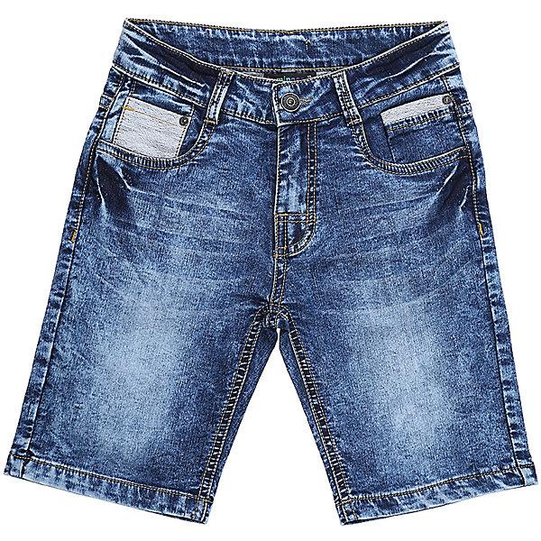 Шорты джинсовые для мальчика LuminosoШорты, бриджи, капри<br>Джинсовые шорты для мальчика. Застегиваются на молнию и пуговицу.   В боковой части пояса находятся вшитые эластичные ленты, регулирующие посадку по талии.<br>Состав:<br>98%хлопок 2%эластан<br><br>Ширина мм: 191<br>Глубина мм: 10<br>Высота мм: 175<br>Вес г: 273<br>Цвет: синий<br>Возраст от месяцев: 144<br>Возраст до месяцев: 156<br>Пол: Мужской<br>Возраст: Детский<br>Размер: 158,140,134,164,152,146<br>SKU: 5409706