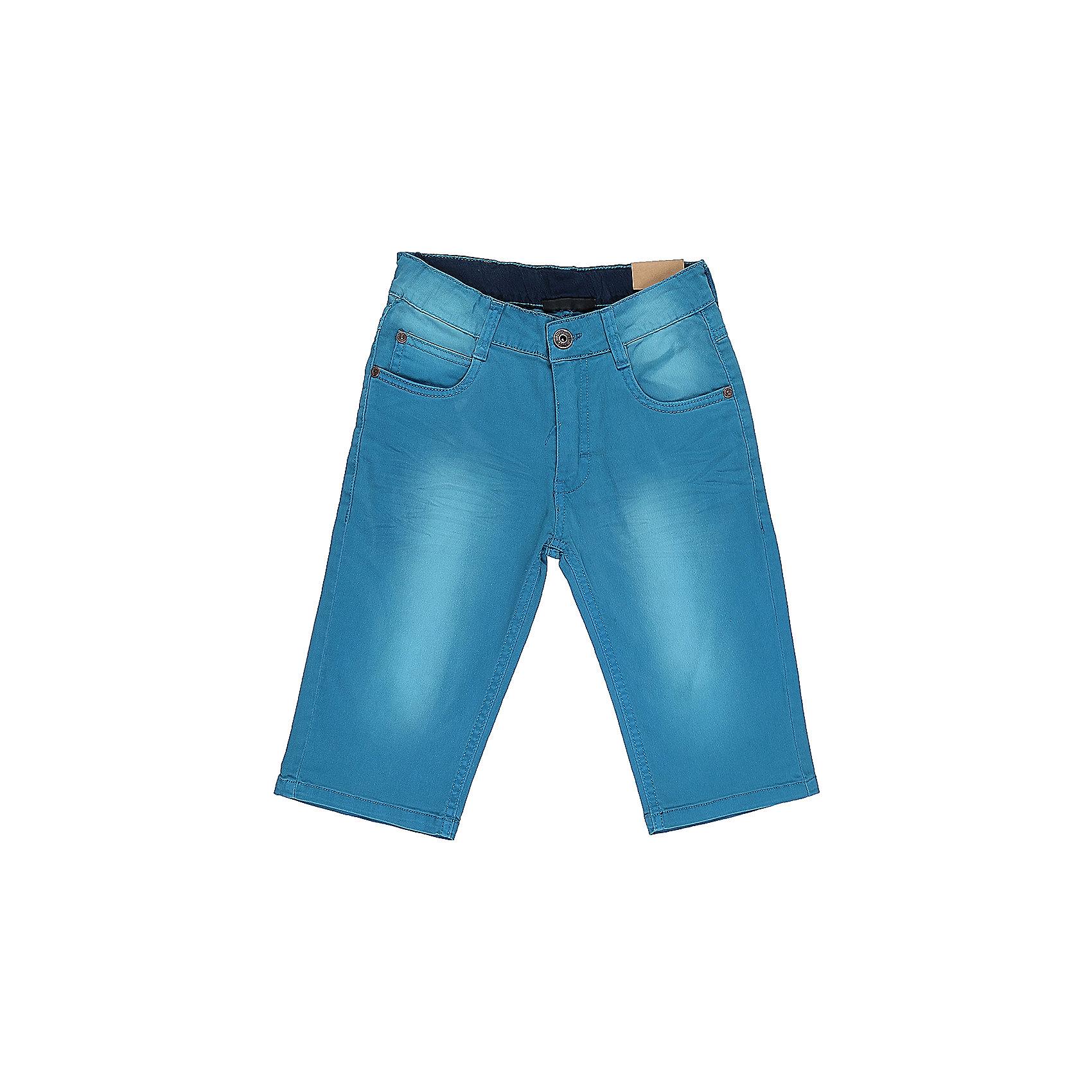 Бриджи джинсовые для мальчика LuminosoШорты, бриджи, капри<br>Джинсовые бриджи для мальчика. Застегиваются на молнию и пуговицу. Имеют зауженный крой, среднюю посадку. Шлевки на поясе рассчитаны под ремень. В боковой части пояса находятся вшитые эластичные ленты, регулирующие посадку по талии.<br>Состав:<br>100%хлопок<br><br>Ширина мм: 191<br>Глубина мм: 10<br>Высота мм: 175<br>Вес г: 273<br>Цвет: голубой<br>Возраст от месяцев: 156<br>Возраст до месяцев: 168<br>Пол: Мужской<br>Возраст: Детский<br>Размер: 164,134,158,152,146,140<br>SKU: 5409775