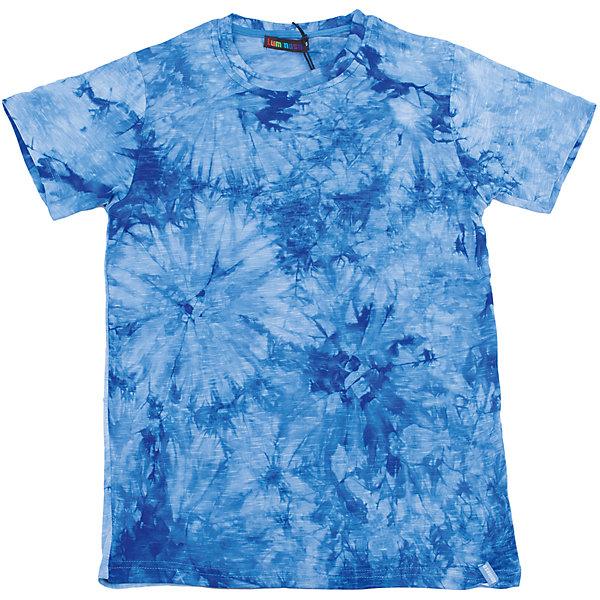 Футболка для мальчика LuminosoФутболки, поло и топы<br>Яркая летняя футболка оригинального дизайна для мальчика. Из мягкого, качественного трикотажа.<br>Состав:<br>95% хлопок 5% эластан<br>Ширина мм: 199; Глубина мм: 10; Высота мм: 161; Вес г: 151; Цвет: синий; Возраст от месяцев: 96; Возраст до месяцев: 108; Пол: Мужской; Возраст: Детский; Размер: 134,140,164,158,152,146; SKU: 5409817;