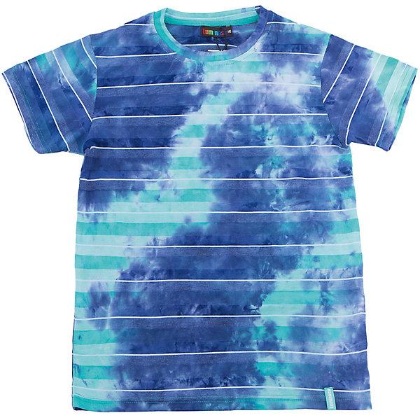Футболка для мальчика LuminosoФутболки, поло и топы<br>Яркая летняя футболка оригинального дизайна для мальчика. Из мягкого, качественного трикотажа.<br>Состав:<br>95% хлопок 5% эластан<br><br>Ширина мм: 199<br>Глубина мм: 10<br>Высота мм: 161<br>Вес г: 151<br>Цвет: белый<br>Возраст от месяцев: 108<br>Возраст до месяцев: 120<br>Пол: Мужской<br>Возраст: Детский<br>Размер: 140,134,164,158,152,146<br>SKU: 5409824