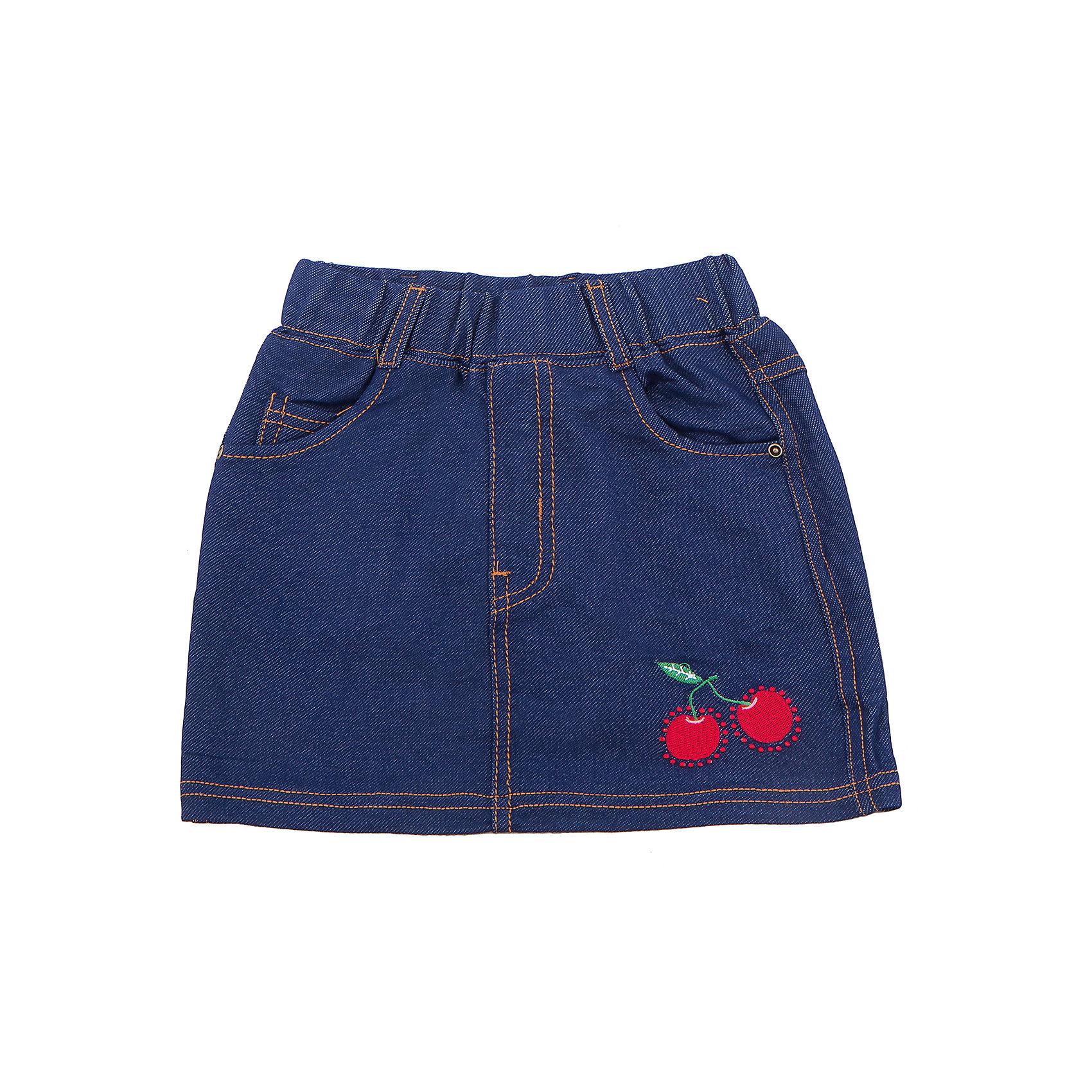 Юбка джинсовая для девочки Sweet BerryДжинсовая одежда<br>Трикотажная юбка для девочки с контрастной отсрочкой.<br>Состав:<br>95%хлопок 5%эластан<br><br>Ширина мм: 207<br>Глубина мм: 10<br>Высота мм: 189<br>Вес г: 183<br>Цвет: синий<br>Возраст от месяцев: 36<br>Возраст до месяцев: 48<br>Пол: Женский<br>Возраст: Детский<br>Размер: 104,98,110,116,122,128<br>SKU: 5409949