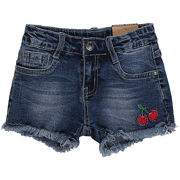 Шорты джинсовые для девочки Sweet BerryШорты, бриджи, капри<br>Джинсовые шорты для девочки. Декорированы яркой вышивкой. Застегиваются на молнию и пуговицу.   В боковой части пояса находятся вшитые эластичные ленты, регулирующие посадку по талии.<br>Состав:<br>98%хлопок 2%эластан<br>Ширина мм: 191; Глубина мм: 10; Высота мм: 175; Вес г: 273; Цвет: синий; Возраст от месяцев: 36; Возраст до месяцев: 48; Пол: Женский; Возраст: Детский; Размер: 104,98,110,116,122,128; SKU: 5410010;