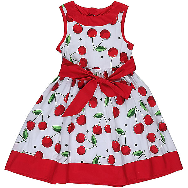 Платье для девочки Sweet BerryОдежда<br>Стильное хлопковое платье для девочки с ярким пояском. Горловина и низ изделия декорирован контрастной тканью. Застегивается на потайную молнию на спинке.<br>Состав:<br>Верх: 100% хлопок, Подкладка: 100%хлопок<br>Ширина мм: 236; Глубина мм: 16; Высота мм: 184; Вес г: 177; Цвет: белый; Возраст от месяцев: 24; Возраст до месяцев: 36; Пол: Женский; Возраст: Детский; Размер: 98,122,104,128,116,110; SKU: 5410059;