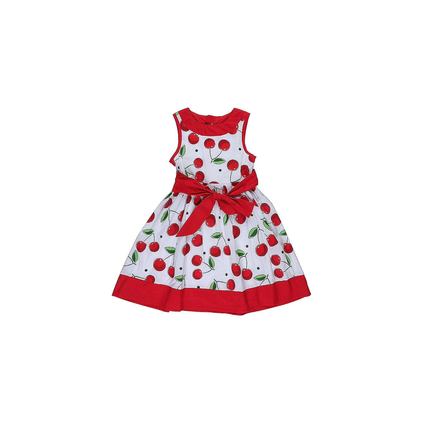 Платье для девочки Sweet BerryОдежда<br>Стильное хлопковое платье для девочки с ярким пояском. Горловина и низ изделия декорирован контрастной тканью. Застегивается на потайную молнию на спинке.<br>Состав:<br>Верх: 100% хлопок, Подкладка: 100%хлопок<br><br>Ширина мм: 236<br>Глубина мм: 16<br>Высота мм: 184<br>Вес г: 177<br>Цвет: белый<br>Возраст от месяцев: 24<br>Возраст до месяцев: 36<br>Пол: Женский<br>Возраст: Детский<br>Размер: 98,104,122,110,116,128<br>SKU: 5410059