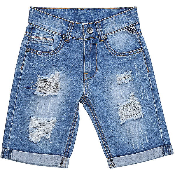 Шорты джинсовые для мальчика Sweet BerryДжинсовая одежда<br>Джинсовые шорты для мальчика Декорированые по бокам изделия стильными молниями.   В боковой части пояса находятся вшитые эластичные ленты, регулирующие посадку по талии.<br>Состав:<br>100%хлопок<br>Ширина мм: 191; Глубина мм: 10; Высота мм: 175; Вес г: 273; Цвет: голубой; Возраст от месяцев: 24; Возраст до месяцев: 36; Пол: Мужской; Возраст: Детский; Размер: 98,104,128,122,116,110; SKU: 5410379;