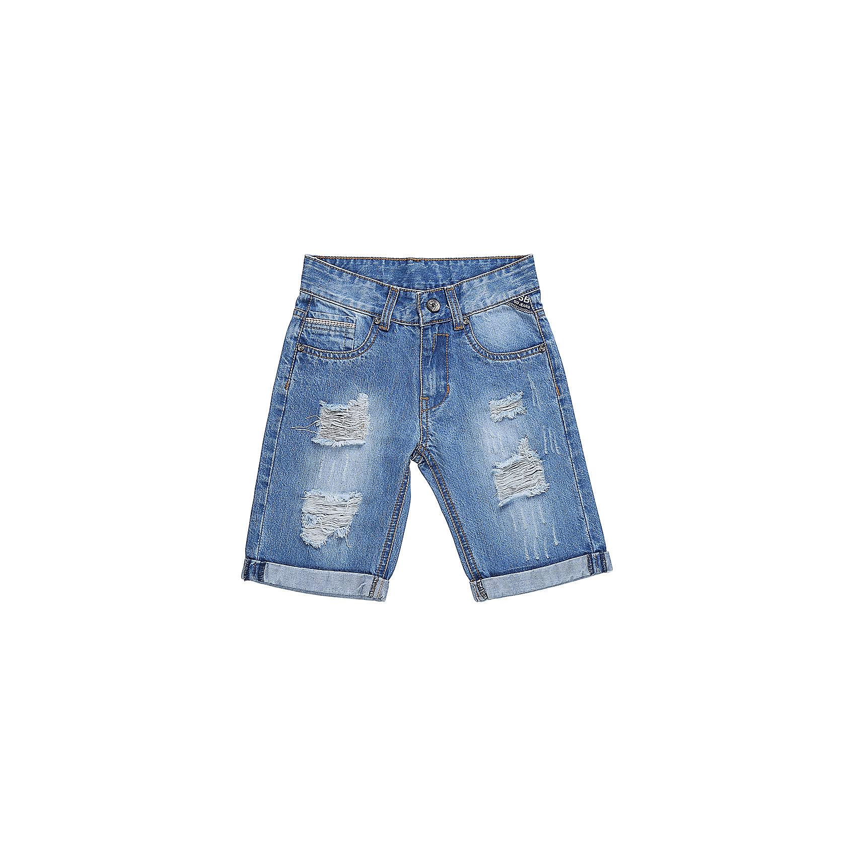 Шорты джинсовые для мальчика Sweet BerryДжинсовая одежда<br>Джинсовые шорты для мальчика Декорированые по бокам изделия стильными молниями.   В боковой части пояса находятся вшитые эластичные ленты, регулирующие посадку по талии.<br>Состав:<br>100%хлопок<br><br>Ширина мм: 191<br>Глубина мм: 10<br>Высота мм: 175<br>Вес г: 273<br>Цвет: голубой<br>Возраст от месяцев: 36<br>Возраст до месяцев: 48<br>Пол: Мужской<br>Возраст: Детский<br>Размер: 116,122,128,104,98,110<br>SKU: 5410379