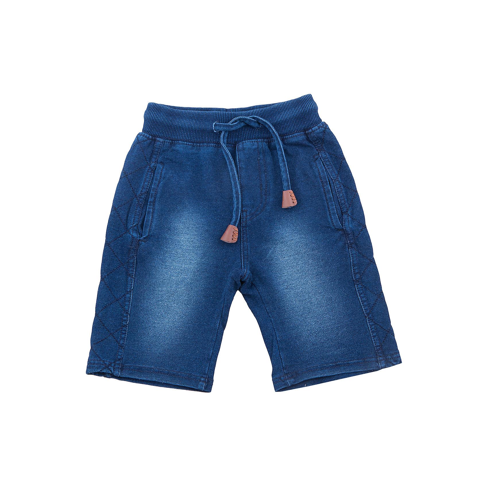 Шорты джинсовые для мальчика Sweet BerryШорты, бриджи, капри<br>Мягкие, трикотажные шорты под Джинсу для мальчика. Спереди два прорезных кармана. Пояс-резинка дополнен шнуром для регулирования объема.<br>Состав:<br>95%хлопок 5%эластан<br><br>Ширина мм: 191<br>Глубина мм: 10<br>Высота мм: 175<br>Вес г: 273<br>Цвет: белый<br>Возраст от месяцев: 24<br>Возраст до месяцев: 36<br>Пол: Мужской<br>Возраст: Детский<br>Размер: 98,104,110,116,122,128<br>SKU: 5410386