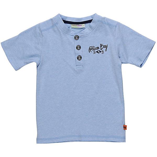 Футболка-поло для мальчика Sweet BerryФутболки, поло и топы<br>Модная трикотажная футболка для мальчика. Декорирована контрастной отделкой горловины и рукавов. Декоративная застежка на пуговках.<br>Состав:<br>95%хлопок 5%эластан<br>Ширина мм: 199; Глубина мм: 10; Высота мм: 161; Вес г: 151; Цвет: голубой; Возраст от месяцев: 24; Возраст до месяцев: 36; Пол: Мужской; Возраст: Детский; Размер: 104,128,122,116,98,110; SKU: 5410400;