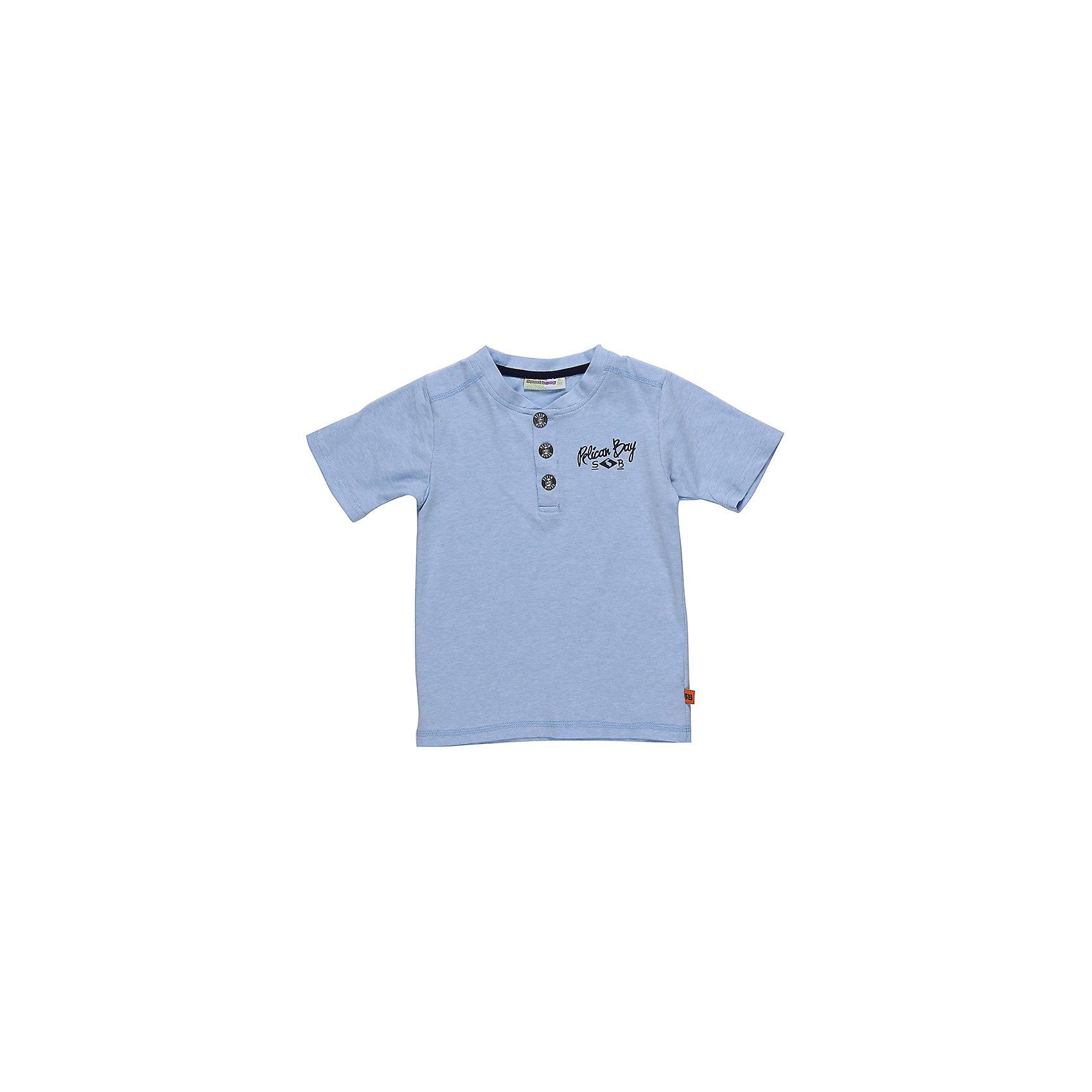 Футболка-поло для мальчика Sweet BerryФутболки, поло и топы<br>Модная трикотажная футболка для мальчика. Декорирована контрастной отделкой горловины и рукавов. Декоративная застежка на пуговках.<br>Состав:<br>95%хлопок 5%эластан<br><br>Ширина мм: 199<br>Глубина мм: 10<br>Высота мм: 161<br>Вес г: 151<br>Цвет: голубой<br>Возраст от месяцев: 36<br>Возраст до месяцев: 48<br>Пол: Мужской<br>Возраст: Детский<br>Размер: 104,98,110,116,122,128<br>SKU: 5410400