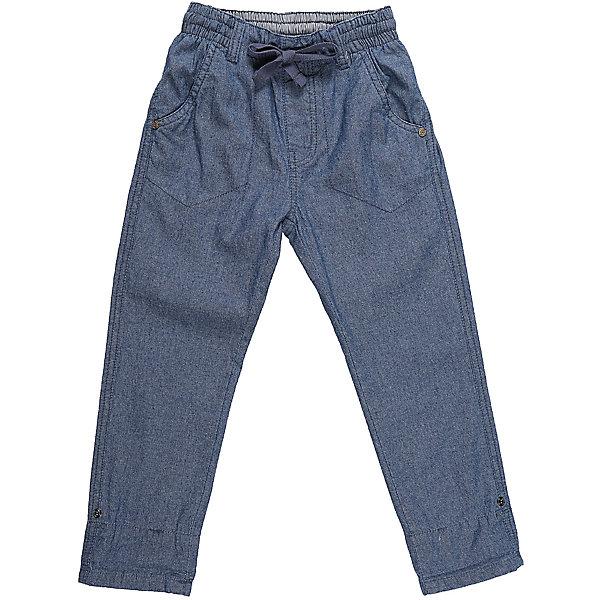 Джинсы для мальчика Sweet BerryДжинсовая одежда<br>Хлопковые брюки для мальчика из облегченной джинсовой ткани прямого кроя.  Застегиваются на молнию и пуговицу. Шлевки на поясе рассчитаны под ремень. В боковой части пояса находятся вшитые эластичные ленты, регулирующие посадку по талии.<br>Состав:<br>100%хлопок<br>Ширина мм: 215; Глубина мм: 88; Высота мм: 191; Вес г: 336; Цвет: синий; Возраст от месяцев: 24; Возраст до месяцев: 36; Пол: Мужской; Возраст: Детский; Размер: 104,122,116,110,128,98; SKU: 5410407;