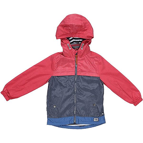 Ветровка для мальчика Sweet BerryВерхняя одежда<br>Стильная, ветровка оригинально сочетает в себе три цвета. С хлопковой подкладкой. Модель с двумя удобными карманами. Капюшон с дополнительной утяжкой. Рукава собраны на мягкую резинку. Комфортная температура эксплуатации от +10 С и выше.<br>Состав:<br>Верх: 75%нейлон, 25%полиэстер.  Подкладка: 100%хлопок.<br><br>Ширина мм: 356<br>Глубина мм: 10<br>Высота мм: 245<br>Вес г: 519<br>Цвет: красный<br>Возраст от месяцев: 24<br>Возраст до месяцев: 36<br>Пол: Мужской<br>Возраст: Детский<br>Размер: 116,110,98,104,128,122<br>SKU: 5410602