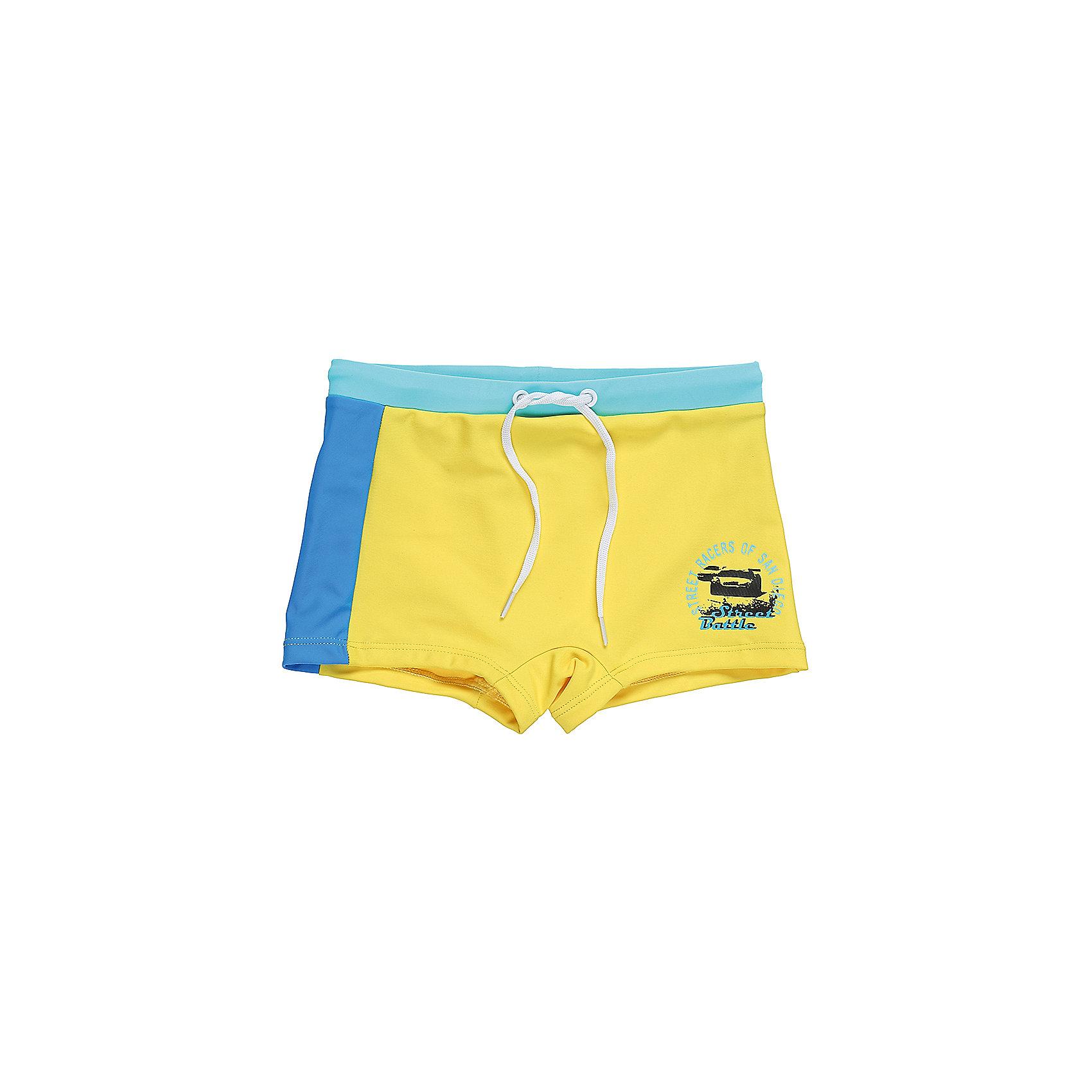Плавки для мальчика Sweet BerryКлассические купальные плавки-шорты для мальчика с ярким принтом. Пояс-резинка дополнен шнуром для регулирования объема.<br>Состав:<br>85%нейлон 15% эластан<br><br>Ширина мм: 183<br>Глубина мм: 60<br>Высота мм: 135<br>Вес г: 119<br>Цвет: зеленый<br>Возраст от месяцев: 36<br>Возраст до месяцев: 48<br>Пол: Мужской<br>Возраст: Детский<br>Размер: 140,128,104,110,116<br>SKU: 5410708