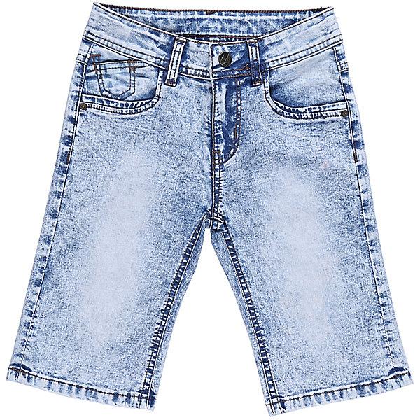 Бриджи джинсовые для мальчика Sweet BerryШорты, бриджи, капри<br>Джинсовые бриджи для мальчика с оригинальной варкой. Застегиваются на молнию и пуговицу. Имеют зауженный крой, среднюю посадку. Шлевки на поясе рассчитаны под ремень. В боковой части пояса находятся вшитые эластичные ленты, регулирующие посадку по талии.<br>Состав:<br>98%хлопок 2%эластан<br>Ширина мм: 191; Глубина мм: 10; Высота мм: 175; Вес г: 273; Цвет: голубой; Возраст от месяцев: 24; Возраст до месяцев: 36; Пол: Мужской; Возраст: Детский; Размер: 98,104,128,122,116,110; SKU: 5410797;