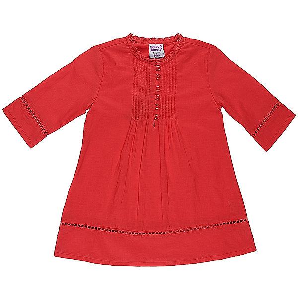 Платье для девочки Sweet BerryПлатья<br>Характеристики товара:<br><br>• цвет: красный<br>• состав: 100% хлопок<br>• рукава до локтя<br>• пуговицы<br>• округлый горловой вырез<br>• страна бренда: Российская Федерация<br><br>Платье для девочки от популярного бренда Sweet Berry (Свит Берри) можно купить в нашем интернет-магазине.<br>Ширина мм: 236; Глубина мм: 16; Высота мм: 184; Вес г: 177; Цвет: розовый; Возраст от месяцев: 12; Возраст до месяцев: 15; Пол: Женский; Возраст: Детский; Размер: 80,92,98,86; SKU: 5410851;