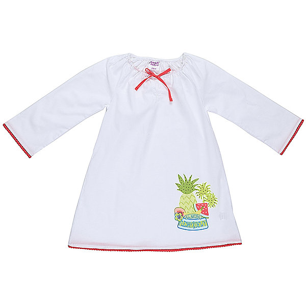 Платье для девочки Sweet BerryПлатья<br>Хлопковое платье-туника для жаркого лета. Декориованно ярким принтом по низу изделия.<br>Состав:<br>100% хлопок<br><br>Ширина мм: 236<br>Глубина мм: 16<br>Высота мм: 184<br>Вес г: 177<br>Цвет: белый<br>Возраст от месяцев: 18<br>Возраст до месяцев: 24<br>Пол: Женский<br>Возраст: Детский<br>Размер: 92,80,86,98<br>SKU: 5410899