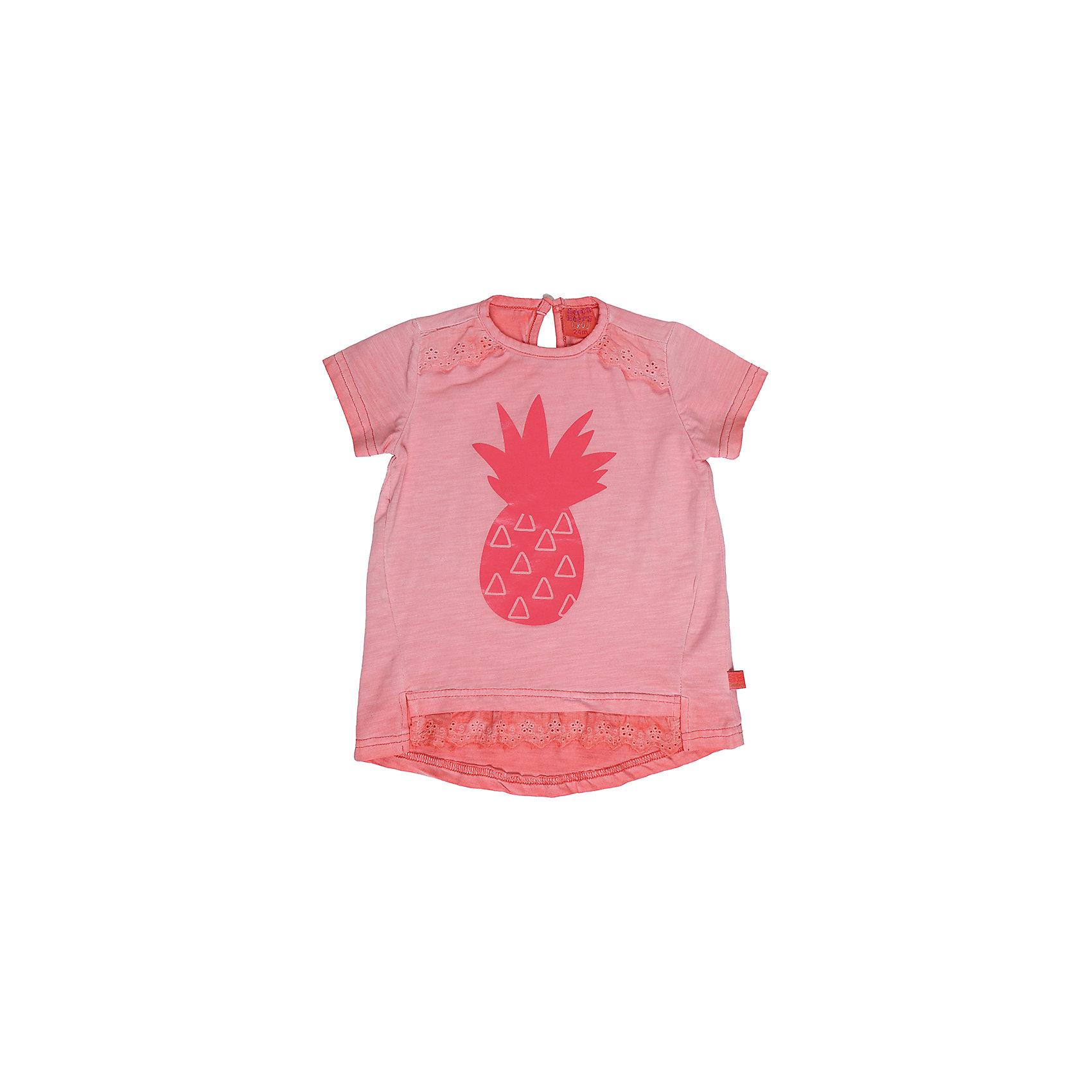 Футболка для девочки Sweet BerryТрикотажная футболка для девочки декорированная оригинальным принтом и кружевом. На спинке застегивается на пуговку.<br>Состав:<br>100%хлопок<br><br>Ширина мм: 199<br>Глубина мм: 10<br>Высота мм: 161<br>Вес г: 151<br>Цвет: оранжевый<br>Возраст от месяцев: 12<br>Возраст до месяцев: 15<br>Пол: Женский<br>Возраст: Детский<br>Размер: 80,86,92,98<br>SKU: 5410944