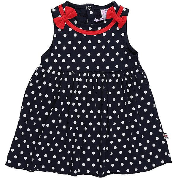 Платье для девочки Sweet BerryПлатья<br>Трикотажное платье для девочки в белый горох. Талия завышена, кокетка декорирована красной бейкой и бантиками.<br>Состав:<br>95%хлопок 5%эластан<br>Ширина мм: 236; Глубина мм: 16; Высота мм: 184; Вес г: 177; Цвет: синий; Возраст от месяцев: 24; Возраст до месяцев: 36; Пол: Женский; Возраст: Детский; Размер: 98,86,80,92; SKU: 5411058;