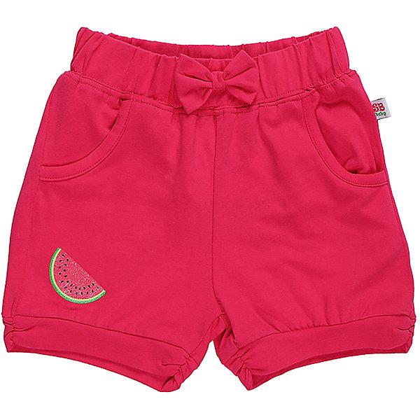 Шорты для девочки Sweet BerryШорты, бриджи, капри<br>Яркие трикотажные короткие шорты для девочки.  Спереди два   кармана. Низ брючины декорирован яркой аппликацией. Эластичный пояс.<br>Состав:<br>95%хлопок 5%эластан<br>Ширина мм: 191; Глубина мм: 10; Высота мм: 175; Вес г: 273; Цвет: лиловый; Возраст от месяцев: 12; Возраст до месяцев: 18; Пол: Женский; Возраст: Детский; Размер: 86,80,98,92; SKU: 5411348;
