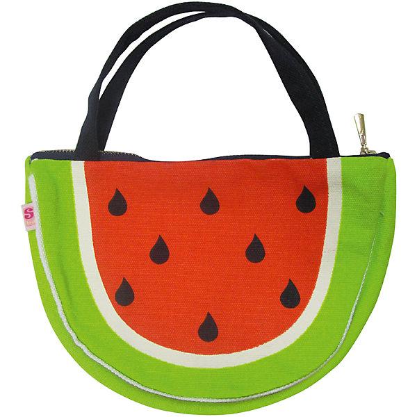 Сумка для девочки Sweet BerryДетские сумки<br>Текстильная сумка на молнии для девочки декорированная ярким оригинальным принтом.<br>Состав:<br>100%хлопок,подкладка 100% полиэстер<br><br>Ширина мм: 170<br>Глубина мм: 157<br>Высота мм: 67<br>Вес г: 117<br>Цвет: зеленый<br>Возраст от месяцев: 24<br>Возраст до месяцев: 144<br>Пол: Женский<br>Возраст: Детский<br>Размер: one size<br>SKU: 5411406