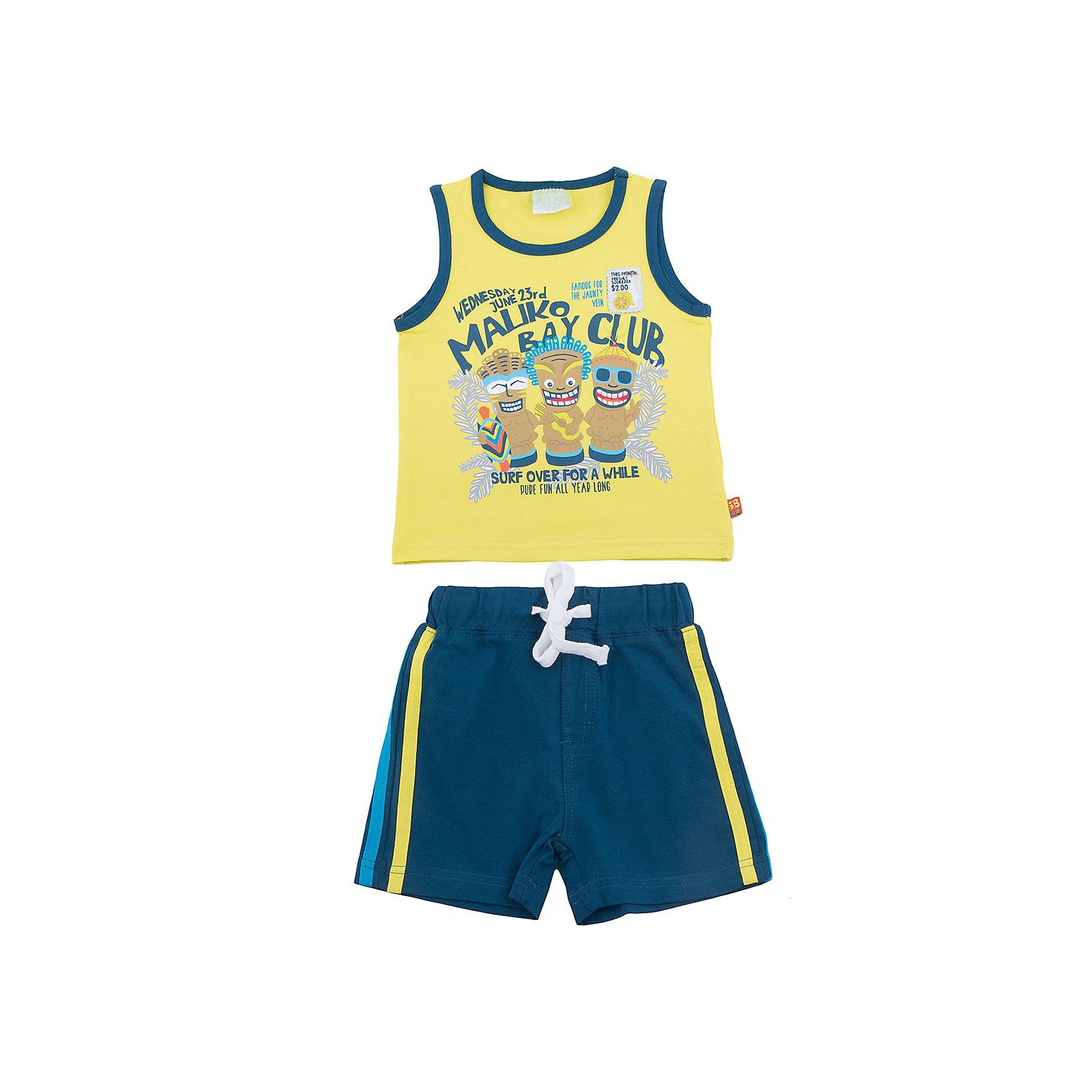 Комплект: майка и шорты для мальчика Sweet Berry
