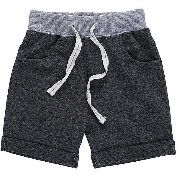 Шорты для мальчика Sweet BerryШорты, бриджи, капри<br>Мягкие,трикотажные шорты с подворотом для мальчика.   Пояс-резинка дополнен шнуром для регулирования объема.<br>Состав:<br>95%хлопок 5%эластан<br>Ширина мм: 191; Глубина мм: 10; Высота мм: 175; Вес г: 273; Цвет: серый; Возраст от месяцев: 12; Возраст до месяцев: 18; Пол: Мужской; Возраст: Детский; Размер: 86,80,98,92; SKU: 5411457;