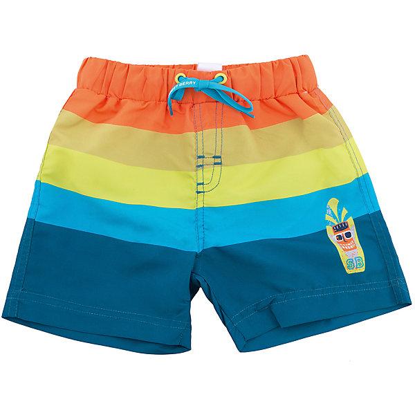 Шорты пляжные для мальчика Sweet BerryШорты, бриджи, капри<br>Купальные шорты для мальчика в яркую полоску выполнены из легкого быстросохнущего материала. Пояс-резинка дополнен шнуром для регулирования объема. Низ изделия декорирован аппликацией.<br>Состав:<br>100% полиэстер<br>Ширина мм: 191; Глубина мм: 10; Высота мм: 175; Вес г: 273; Цвет: белый; Возраст от месяцев: 36; Возраст до месяцев: 48; Пол: Мужской; Возраст: Детский; Размер: 104,92,98,110,116,122; SKU: 5411487;