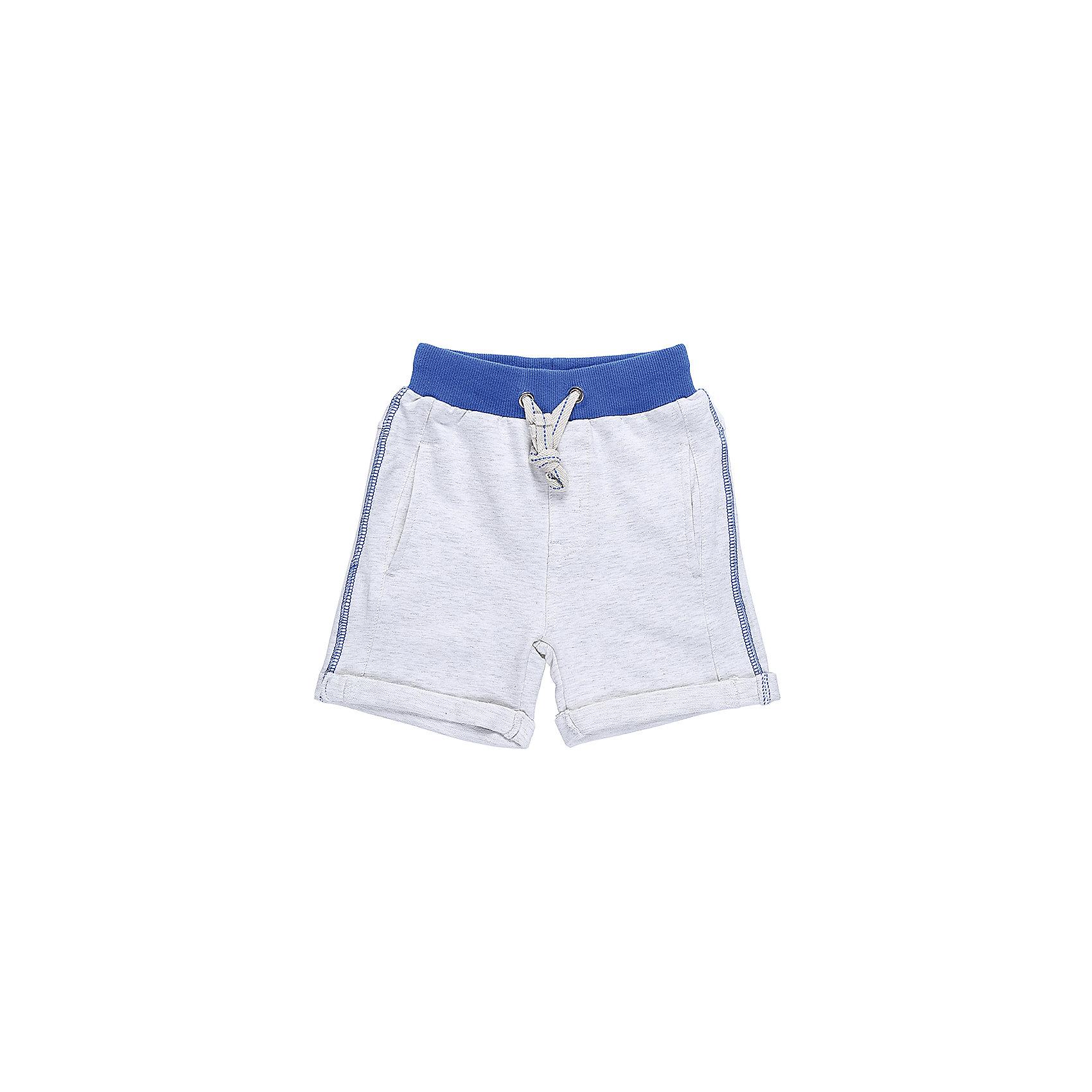 Шорты для мальчика Sweet BerryШорты и бриджи<br>Мягкие, трикотажные шорты с отворотом, под Джинсу для мальчика. Спереди два прорезных кармана. Пояс-резинка дополнен шнуром для регулирования объема.<br>Состав:<br>95%хлопок 5%эластан<br><br>Ширина мм: 191<br>Глубина мм: 10<br>Высота мм: 175<br>Вес г: 273<br>Цвет: серый<br>Возраст от месяцев: 12<br>Возраст до месяцев: 15<br>Пол: Мужской<br>Возраст: Детский<br>Размер: 80,86,92,98<br>SKU: 5411576
