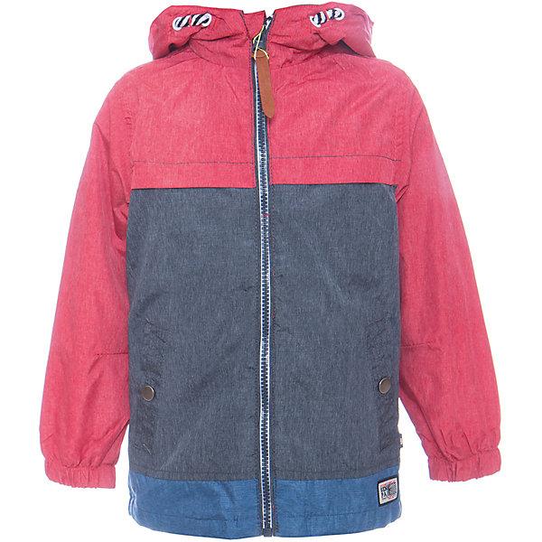 Ветровка для мальчика Sweet BerryВерхняя одежда<br>Стильная, ветровка оригинально сочетает в себе три цвета. С хлопковой подкладкой. Модель с двумя удобными карманами. Капюшон с дополнительной утяжкой. Рукава собраны на мягкую резинку. Комфортная температура эксплуатации от +10 С и выше.<br>Состав:<br>Верх: 75%нейлон, 25%полиэстер.  Подкладка: 100%хлопок.<br><br>Ширина мм: 356<br>Глубина мм: 10<br>Высота мм: 245<br>Вес г: 519<br>Цвет: красный<br>Возраст от месяцев: 12<br>Возраст до месяцев: 18<br>Пол: Мужской<br>Возраст: Детский<br>Размер: 86,80,98,92<br>SKU: 5411710
