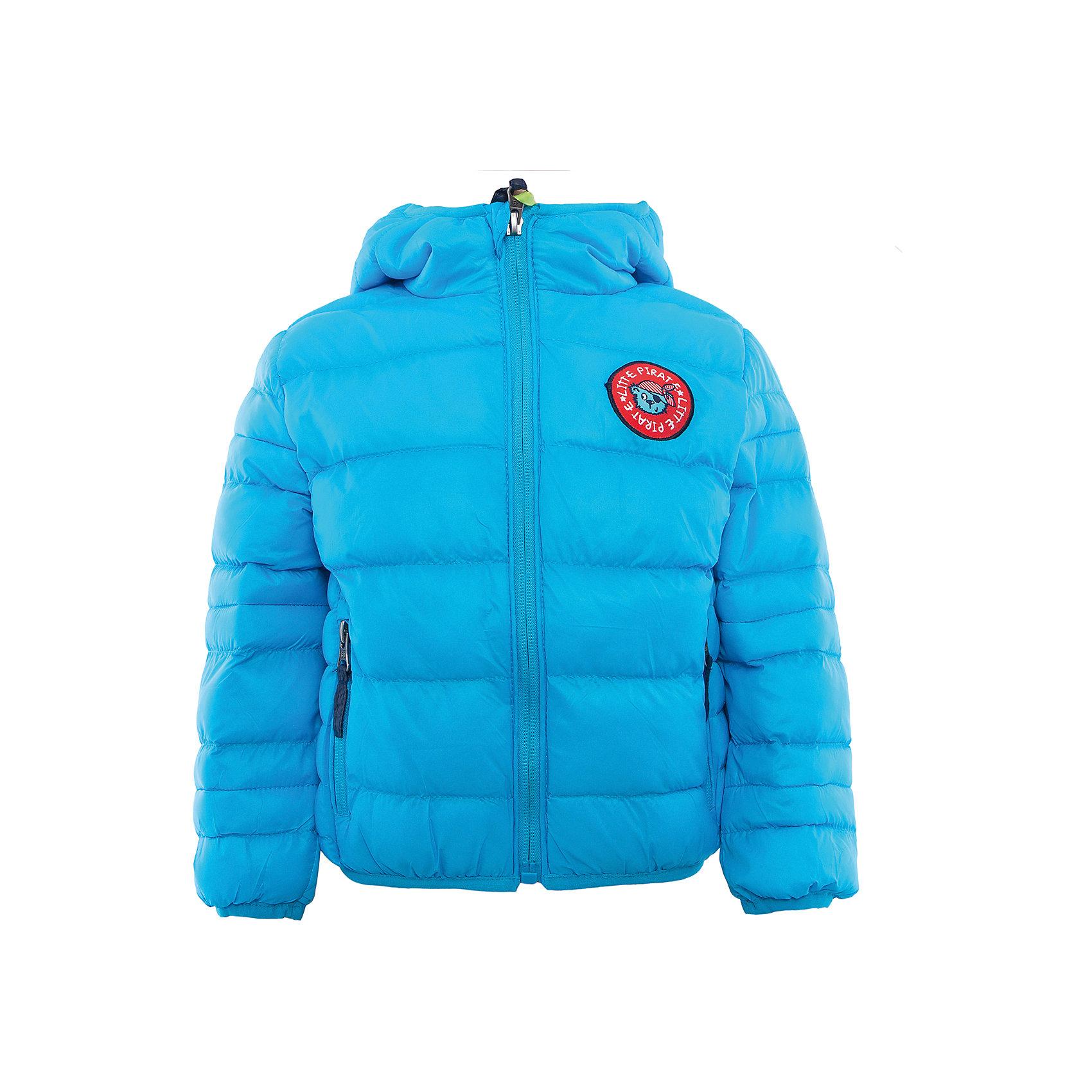 Куртка для мальчика Sweet BerryВерхняя одежда<br>Стильная, стеганая куртка бирюзового цвета для мальчика. Прорезные косые карманы. Застегивается на молнию.  Капюшон с дополнительной утяжкой. Куртка декорирована аппликацией.<br>Состав:<br>Верх: 100%нейлон. Подкладка: 65%хлопок 35%полиэстер. Наполнитель: 100%полиэстер<br><br>Ширина мм: 356<br>Глубина мм: 10<br>Высота мм: 245<br>Вес г: 519<br>Цвет: синий<br>Возраст от месяцев: 12<br>Возраст до месяцев: 15<br>Пол: Мужской<br>Возраст: Детский<br>Размер: 80,86,92,98<br>SKU: 5411715