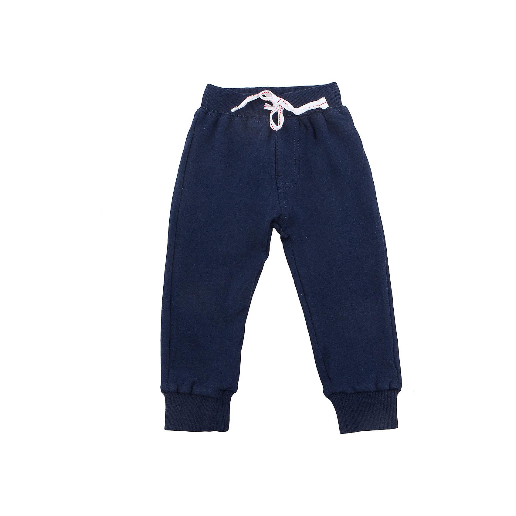 Брюки для мальчика Sweet BerryБрюки<br>Трикотажные брюки, низ брючин собран на мягкую резинку. Модель имеет прорезные карманы и декоративный кант. Пояс-резинка дополнен шнуром для регулирования объема.<br>Состав:<br>95%хлопок 5%эластан<br><br>Ширина мм: 215<br>Глубина мм: 88<br>Высота мм: 191<br>Вес г: 336<br>Цвет: синий<br>Возраст от месяцев: 12<br>Возраст до месяцев: 15<br>Пол: Мужской<br>Возраст: Детский<br>Размер: 80,86,92,98<br>SKU: 5411774