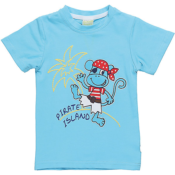Футболка для мальчика Sweet BerryФутболки, топы<br>Футболка ярко голубого цвета с оригинальным принтом для мальчика.<br>Состав:<br>95%хлопок 5%эластан<br><br>Ширина мм: 199<br>Глубина мм: 10<br>Высота мм: 161<br>Вес г: 151<br>Цвет: голубой<br>Возраст от месяцев: 12<br>Возраст до месяцев: 18<br>Пол: Мужской<br>Возраст: Детский<br>Размер: 86,80,98,92<br>SKU: 5411822
