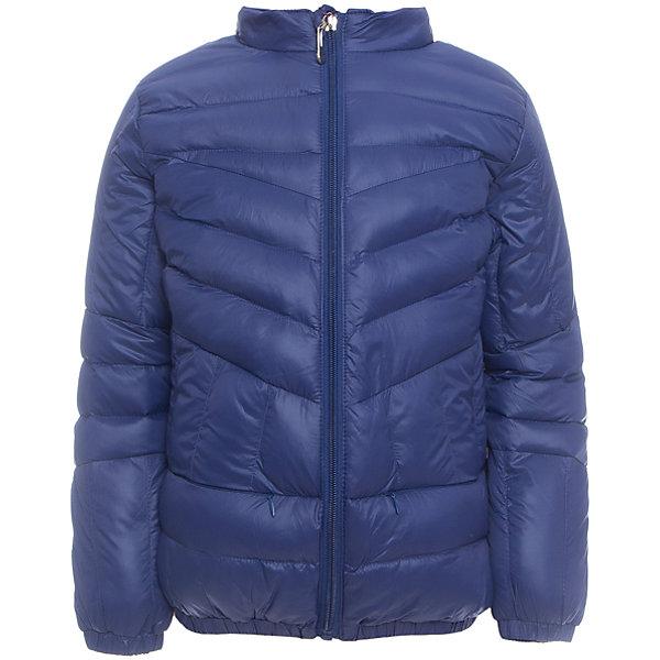 Куртка для девочки Sweet BerryДемисезонные куртки<br>Легкая и удобная стеганая куртка с воротничком-стойкой для девочки. Два прорезных карманы на молнии.<br>Состав:<br>Верх: 100%нейлон.  Подкладка: 100%полиэстер. Наполнитель: 100%полиэстер<br>Ширина мм: 356; Глубина мм: 10; Высота мм: 245; Вес г: 519; Цвет: синий; Возраст от месяцев: 24; Возраст до месяцев: 36; Пол: Женский; Возраст: Детский; Размер: 98,104,128,122,116,110; SKU: 5411863;