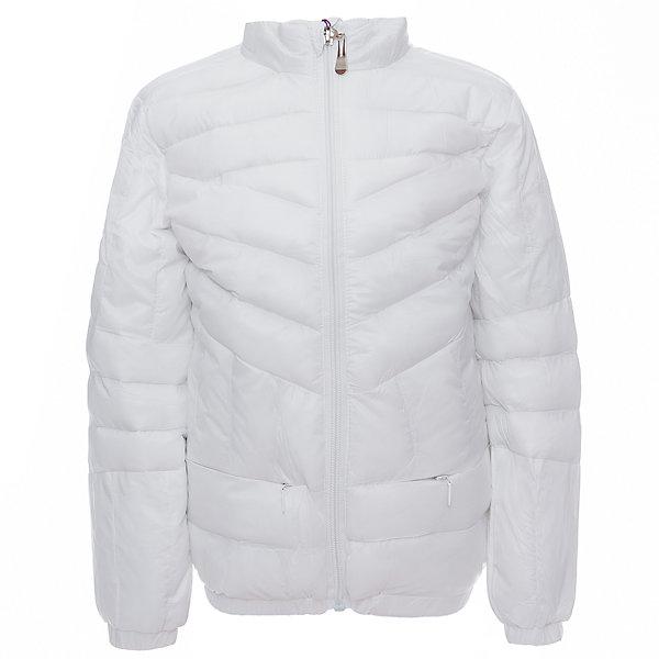 Куртка для девочки Sweet BerryДемисезонные куртки<br>Легкая и удобная стеганая куртка с воротничком-стойкой для девочки. Два прорезных карманы на молнии.<br>Состав:<br>Верх: 100%нейлон.  Подкладка: 100%полиэстер. Наполнитель: 100%полиэстер<br><br>Ширина мм: 356<br>Глубина мм: 10<br>Высота мм: 245<br>Вес г: 519<br>Цвет: белый<br>Возраст от месяцев: 24<br>Возраст до месяцев: 36<br>Пол: Женский<br>Возраст: Детский<br>Размер: 98,104,128,122,116,110<br>SKU: 5411870