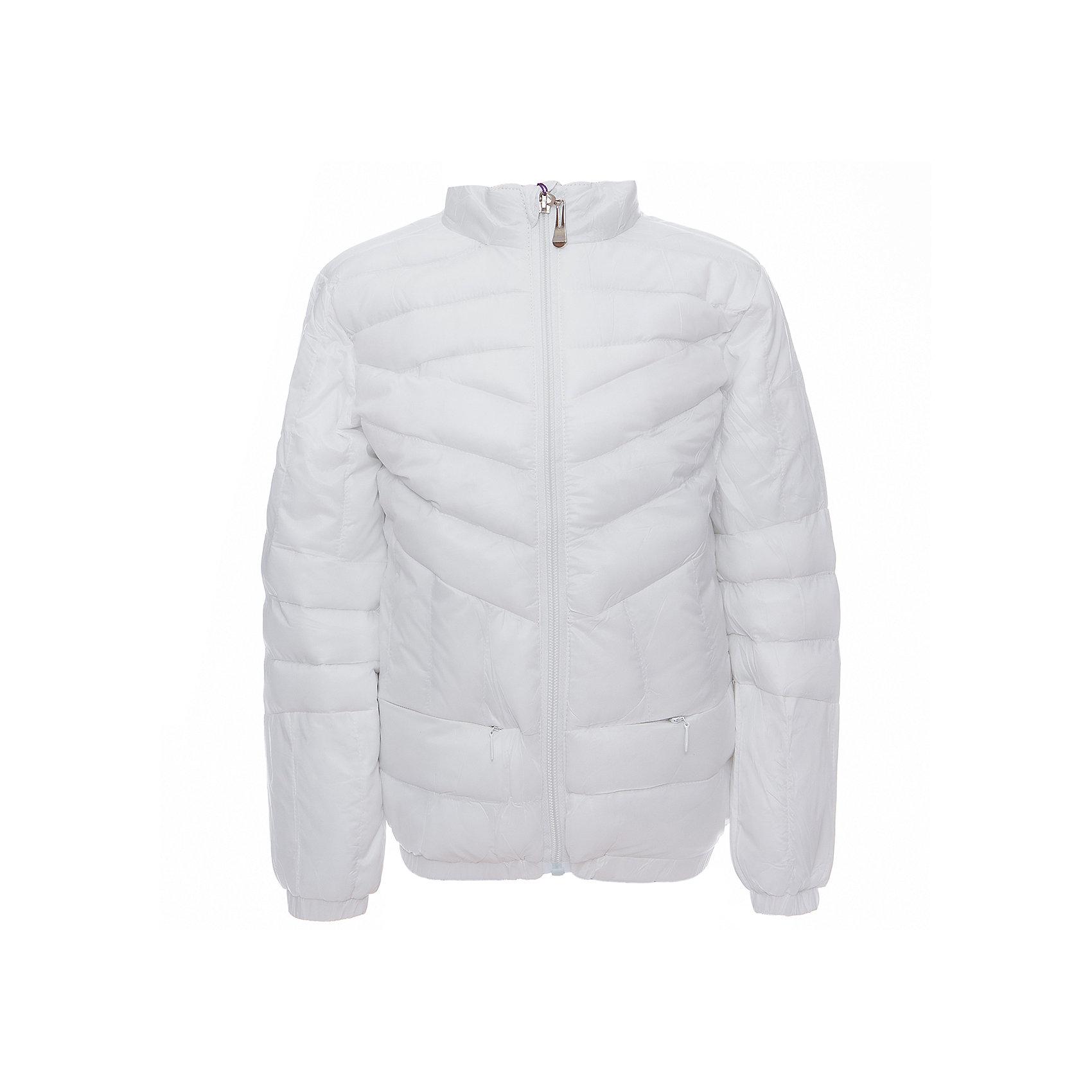 Куртка для девочки Sweet BerryДемисезонные куртки<br>Легкая и удобная стеганая куртка с воротничком-стойкой для девочки. Два прорезных карманы на молнии.<br>Состав:<br>Верх: 100%нейлон.  Подкладка: 100%полиэстер. Наполнитель: 100%полиэстер<br><br>Ширина мм: 356<br>Глубина мм: 10<br>Высота мм: 245<br>Вес г: 519<br>Цвет: белый<br>Возраст от месяцев: 72<br>Возраст до месяцев: 84<br>Пол: Женский<br>Возраст: Детский<br>Размер: 122,128,104,98,110,116<br>SKU: 5411870
